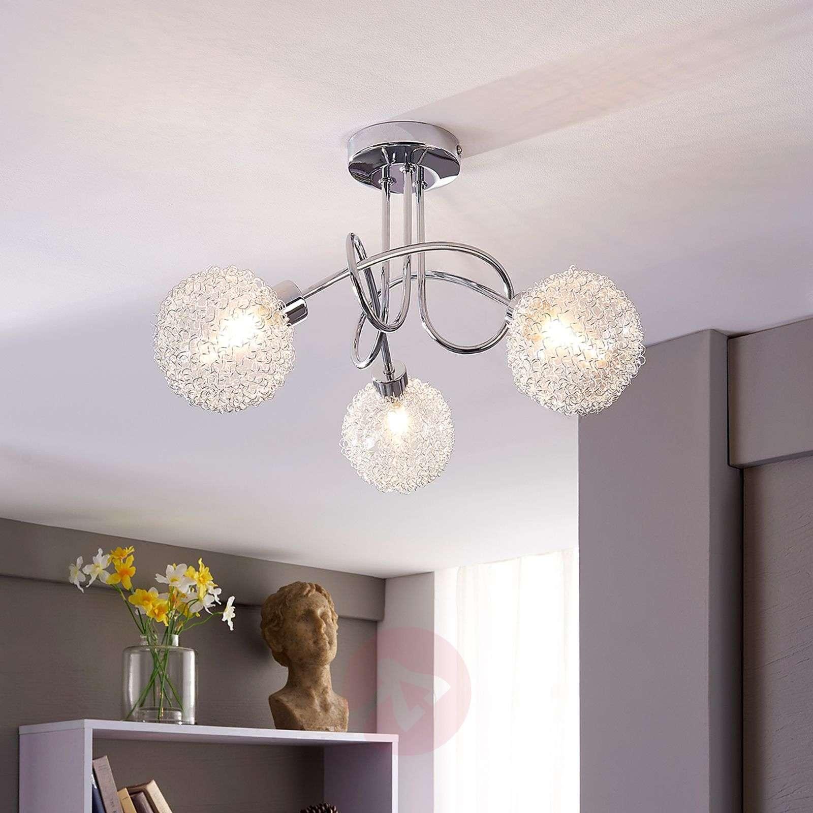 Ticino LED ceiling lamp, 3 bulbs-9620780-01