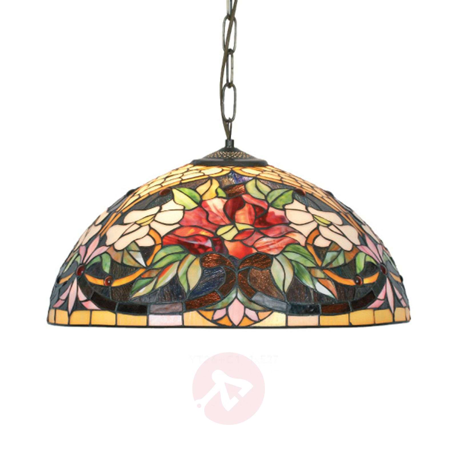 Tiffany-style hanging light Ariadne-1032148X-01