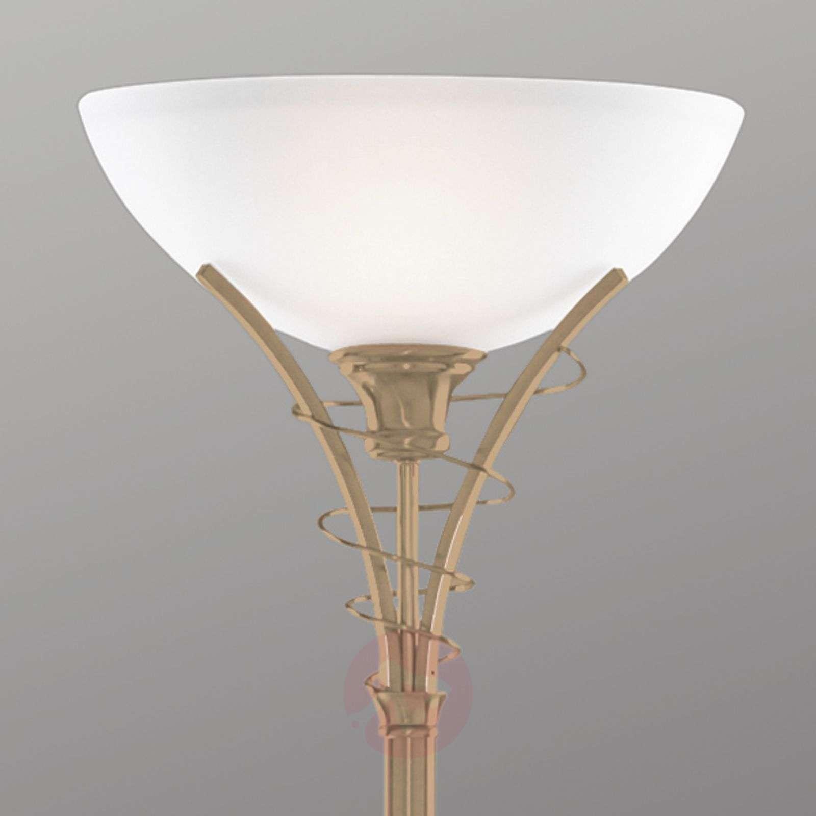 Timeless Lineas antique brass floor lamp-8570082-01