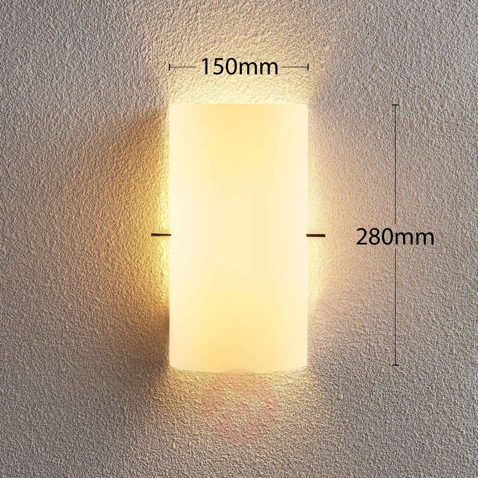 Timelessly attractive glass wall light Tuli-9621097-02