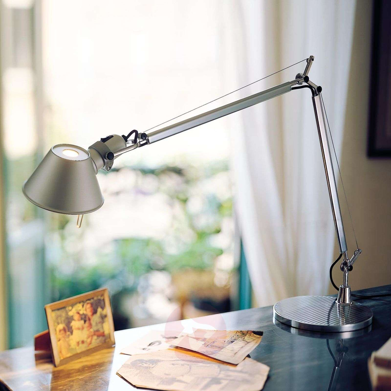 Tolomeo table classic led table lamp lights tolomeo table classic led table lamp 1060069 01 aloadofball Image collections