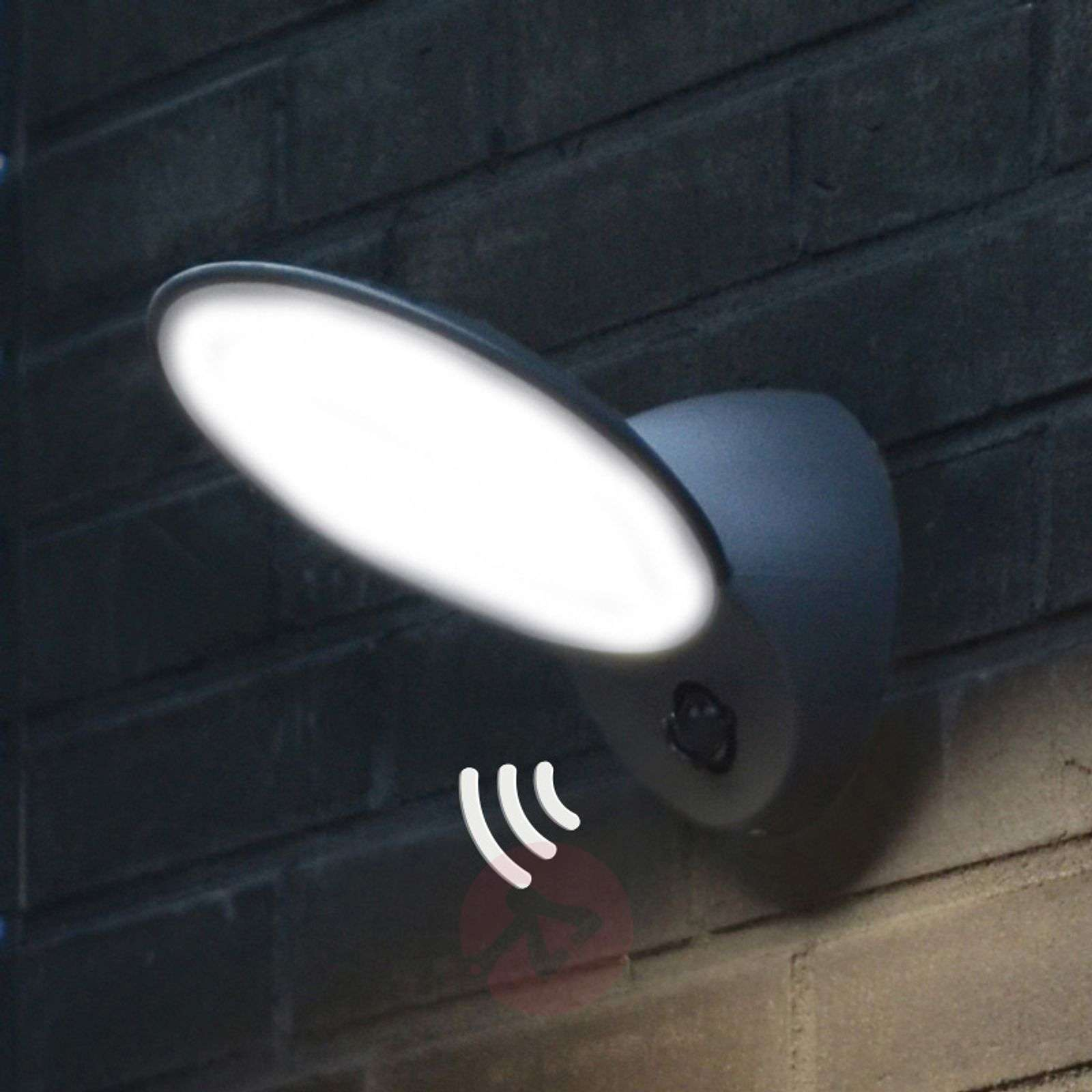 Tona LED exterior wall light with motion sensor | Lights.ie