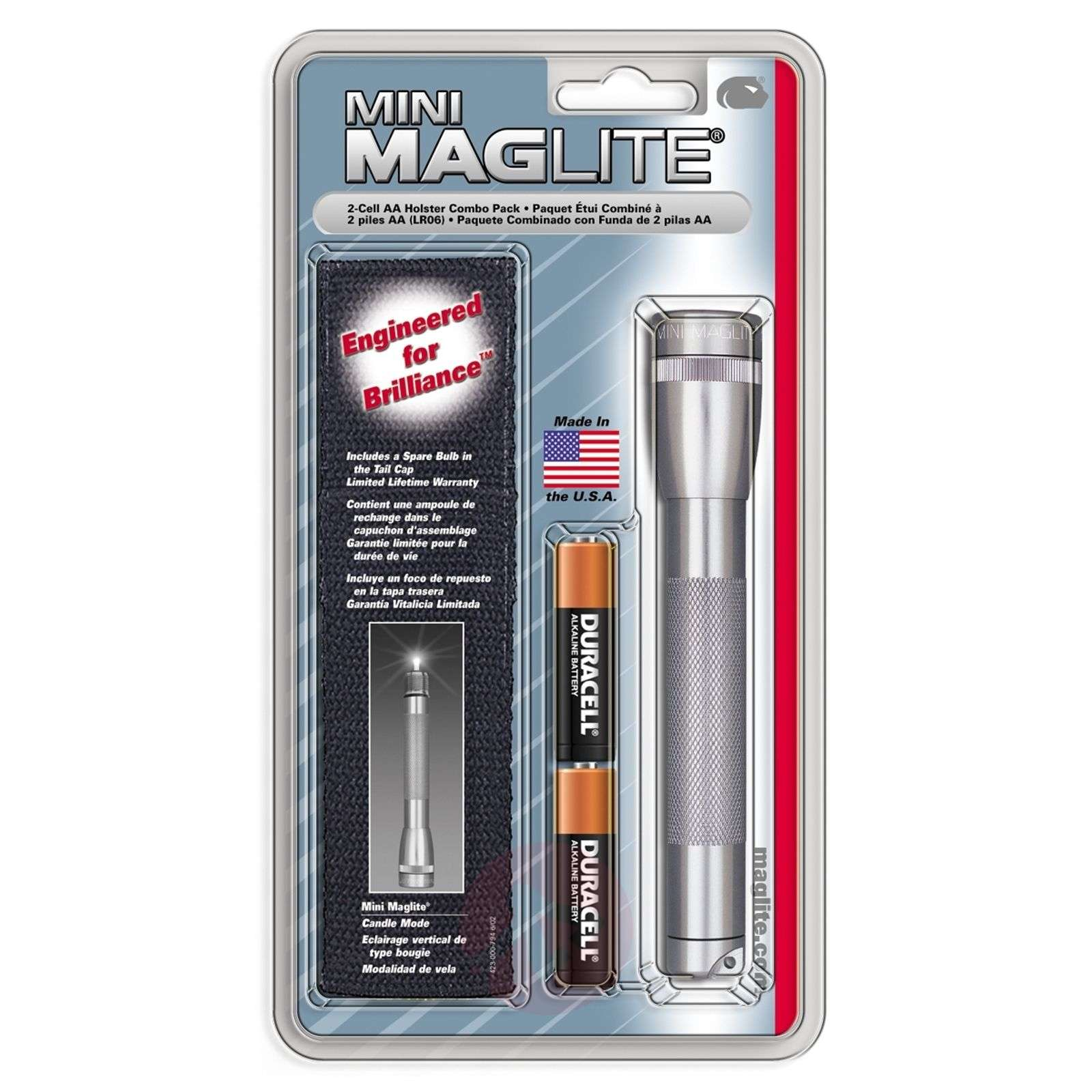 Torch Mini-Maglite, titanium-6535046-01