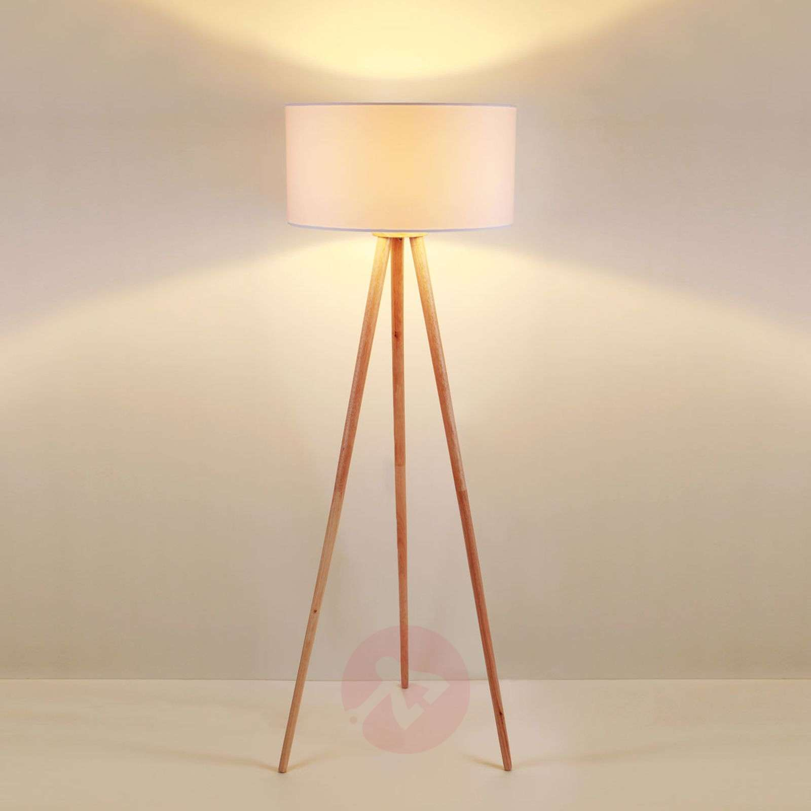 Tripod fabric floor lamp Charlia-9620799-01