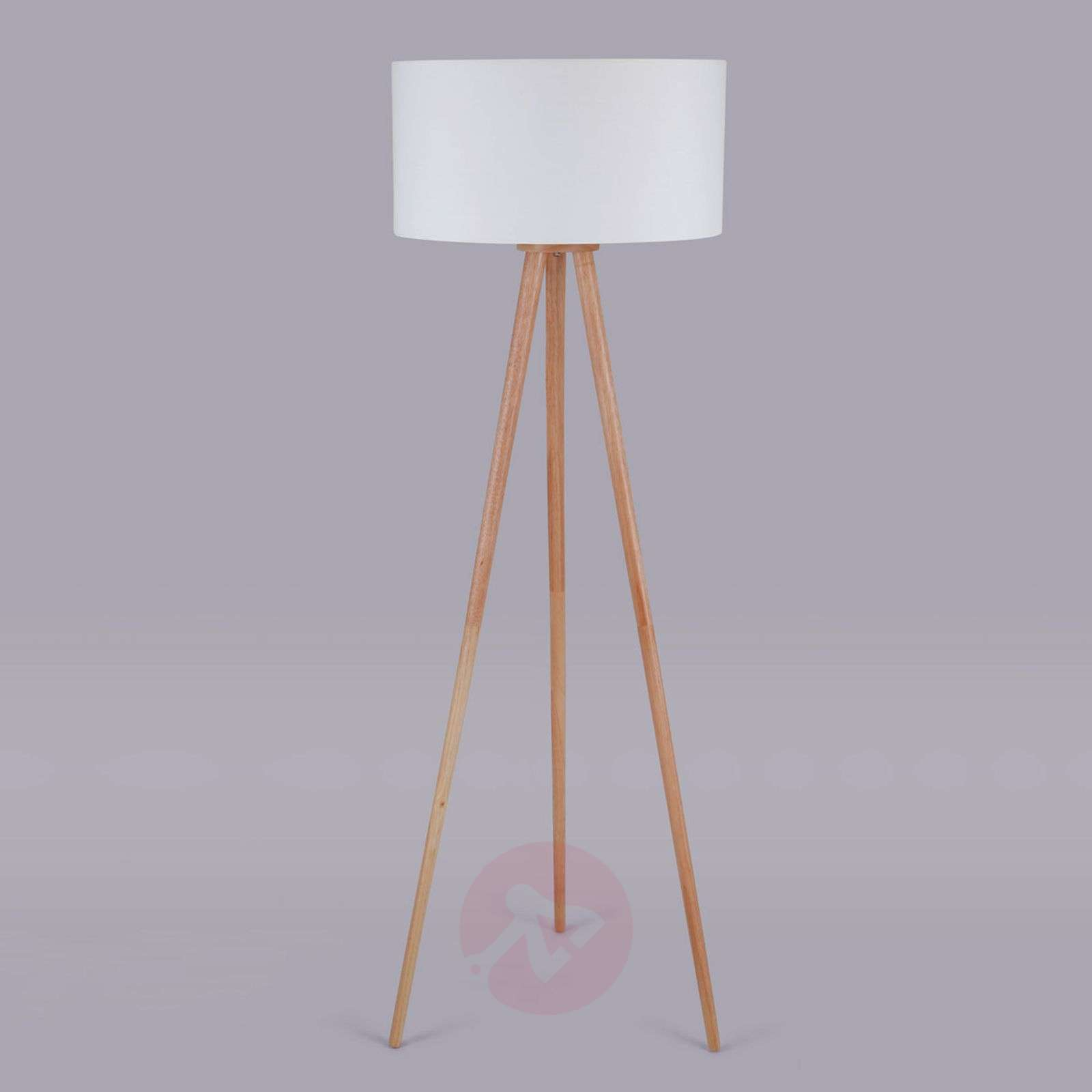 Tripod fabric floor lamp Charlia-9620799-01