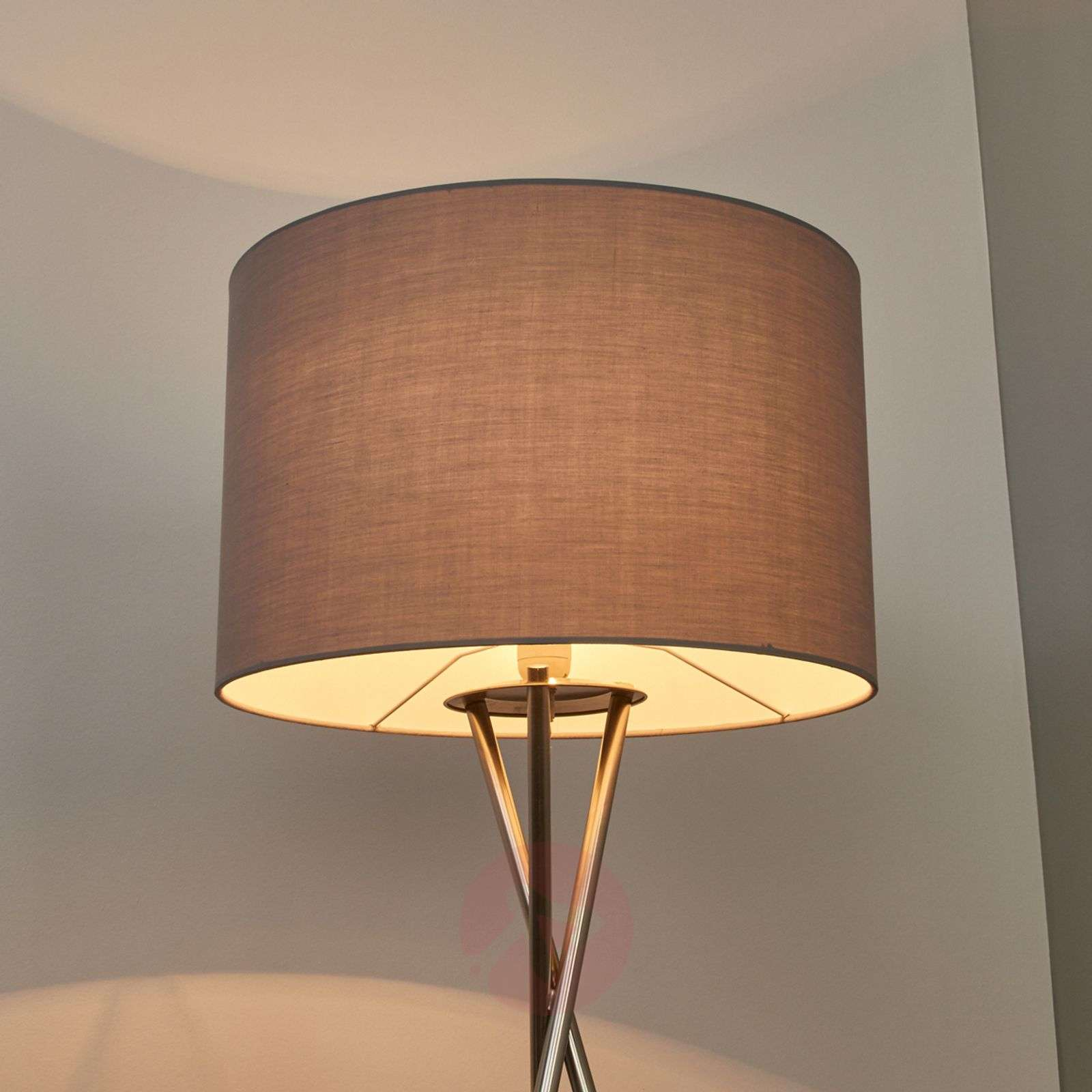 Tripod floor lamp with grey lampshade-4018036-02
