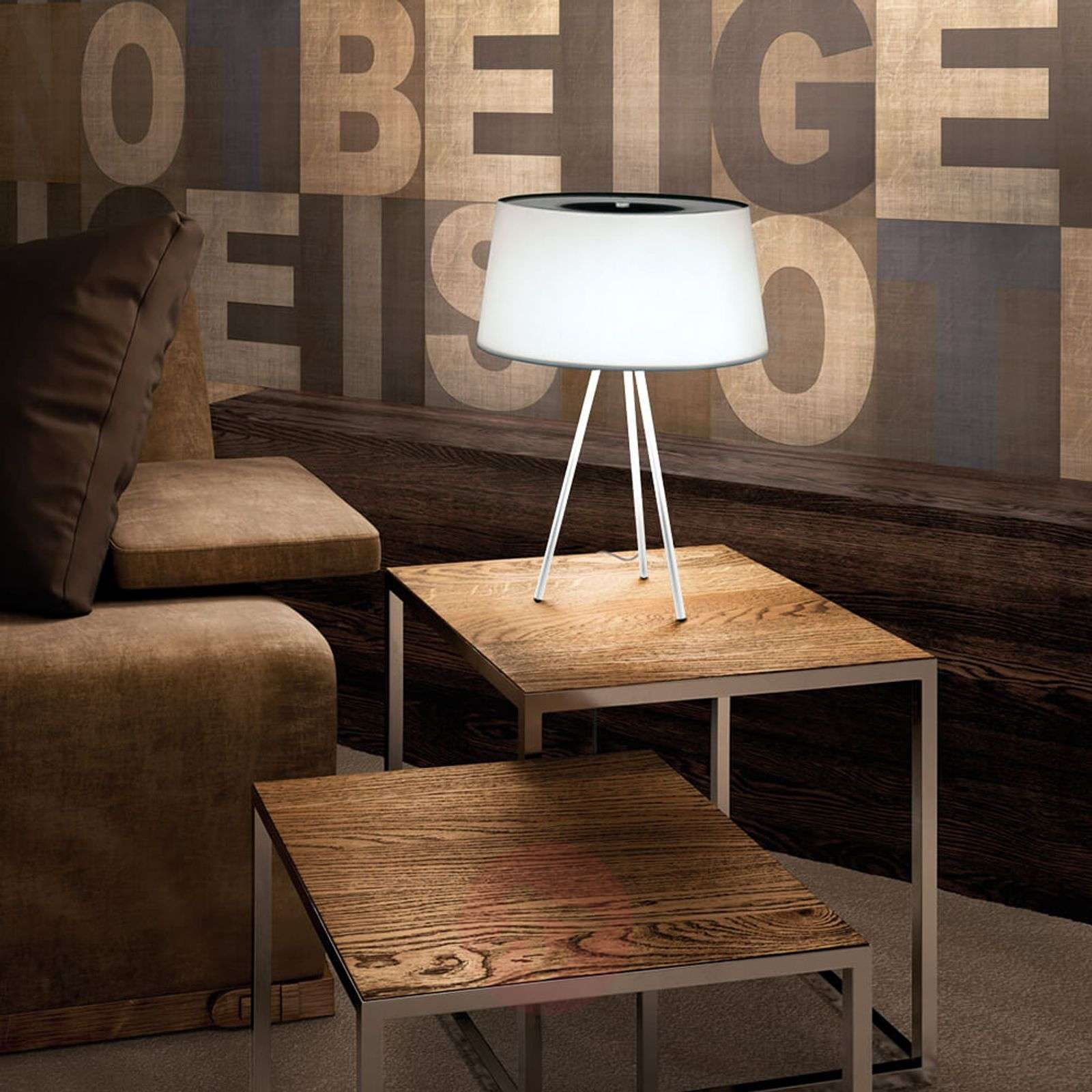 Tripod high quality table lamp lights tripod sophisticated table lamp white frame grey 5520063 01 aloadofball Images