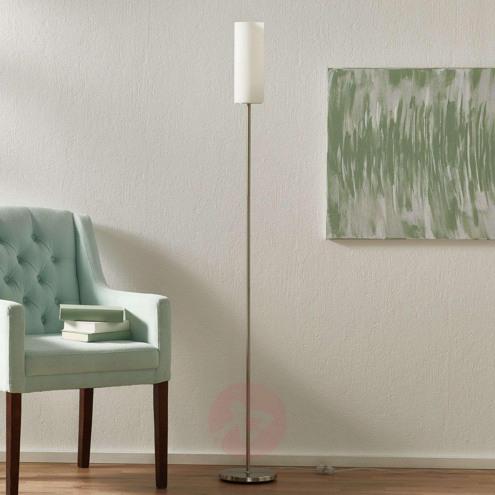 TROY Graceful Floor Lamp in White-3031194-01