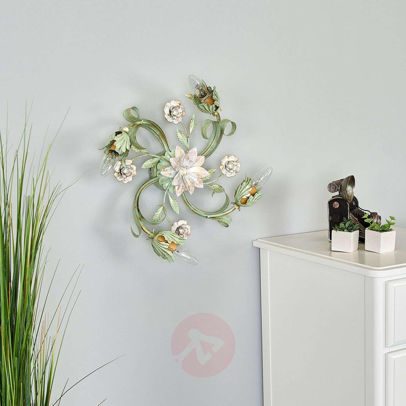 Tulipe ceiling lamp designed in a Florentine style-3532167-02