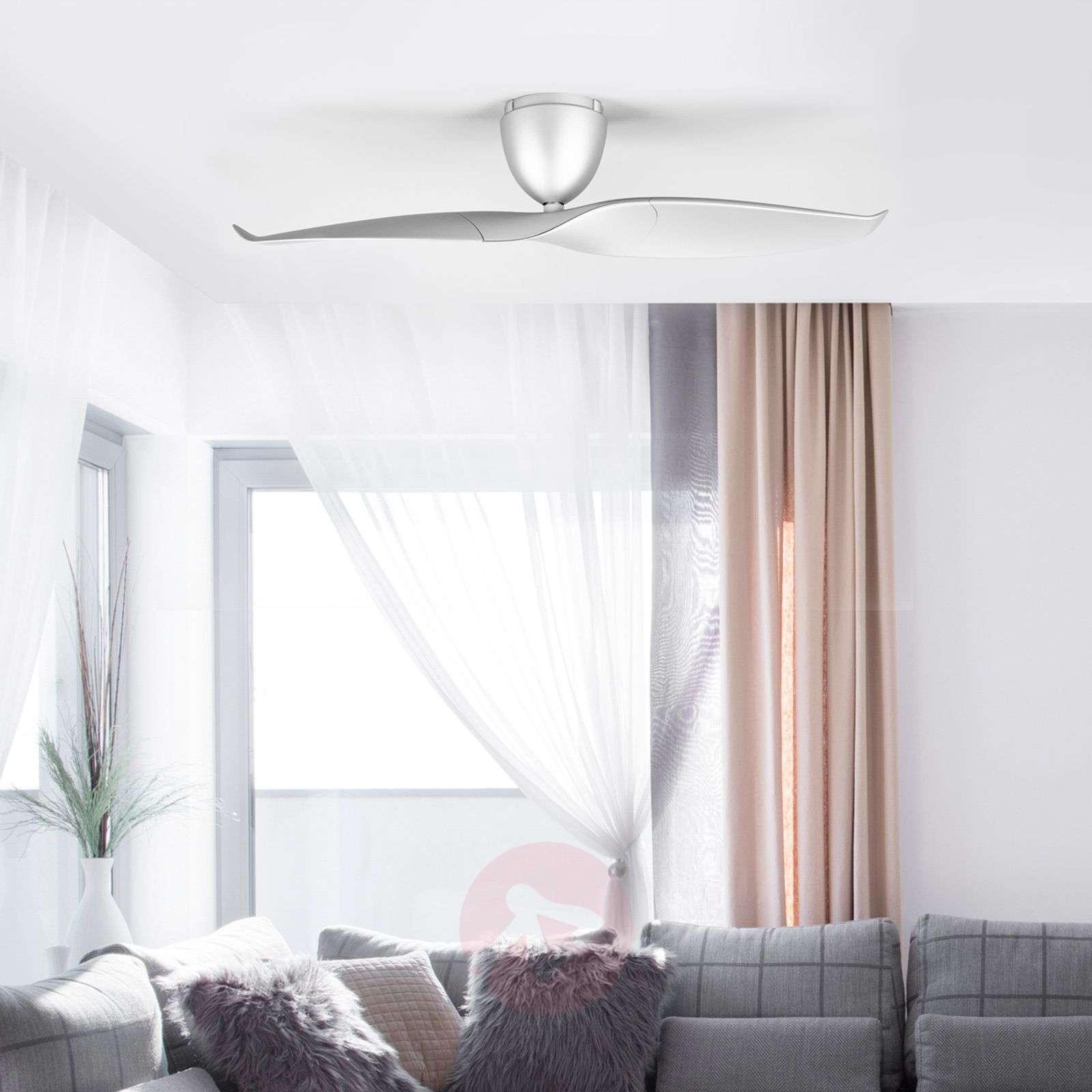 Two blade Ceiling fan Wave, silver, 126-1068008-04