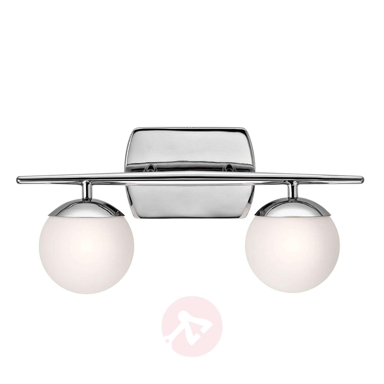Two-bulb LED bathroom wall light Jasper, elegant-3048867-01