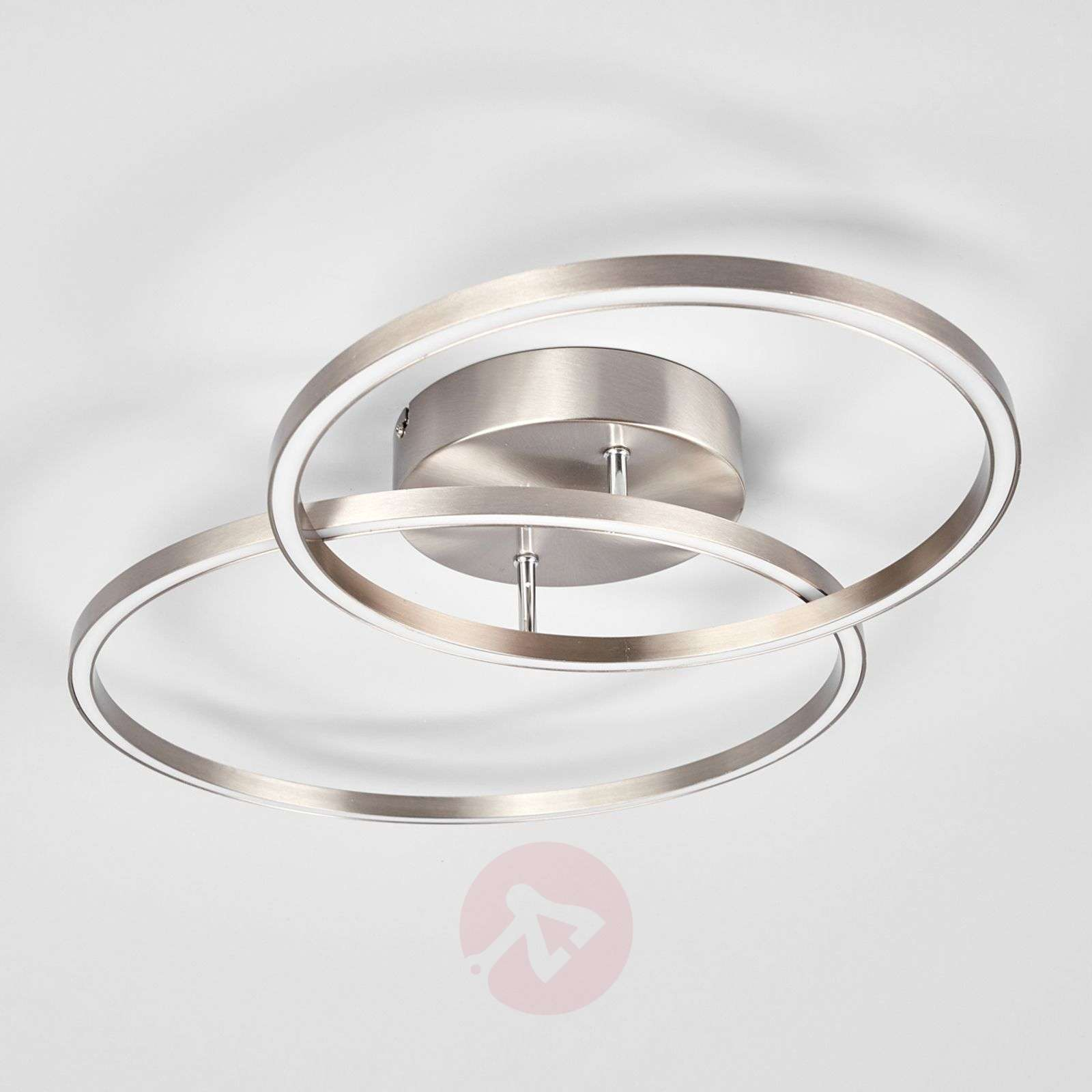Two overlapping rings the Elmo LED ceiling lamp-9987047-03