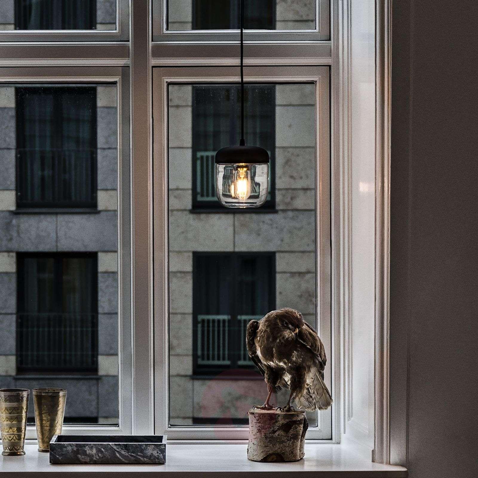UMAGE Acorn hanging lamp black/brass-9521080-01