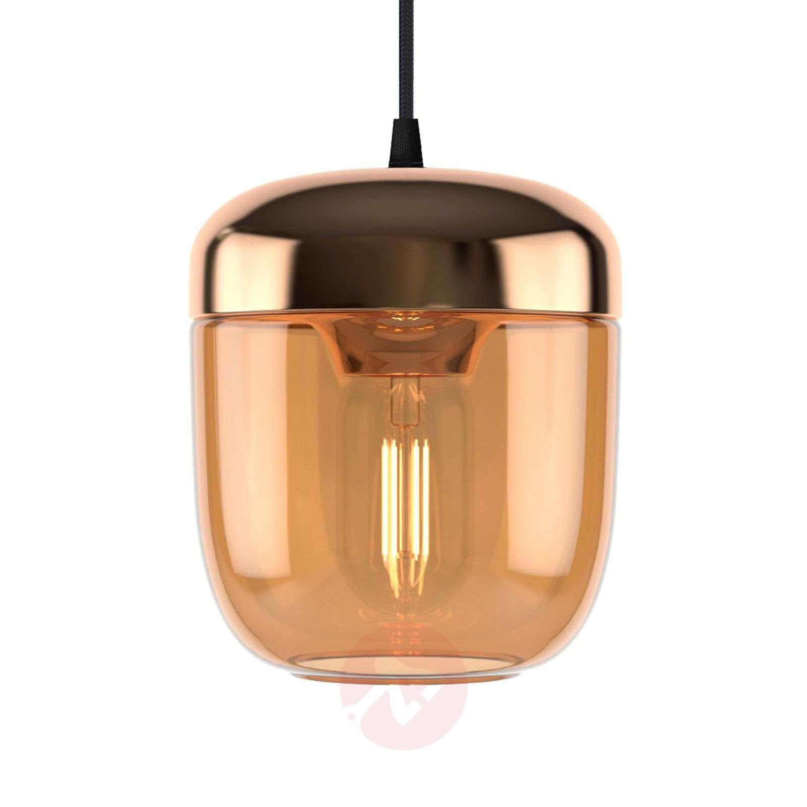 UMAGE Acorn hanging lamp one-bulb amber brass-9521222-01