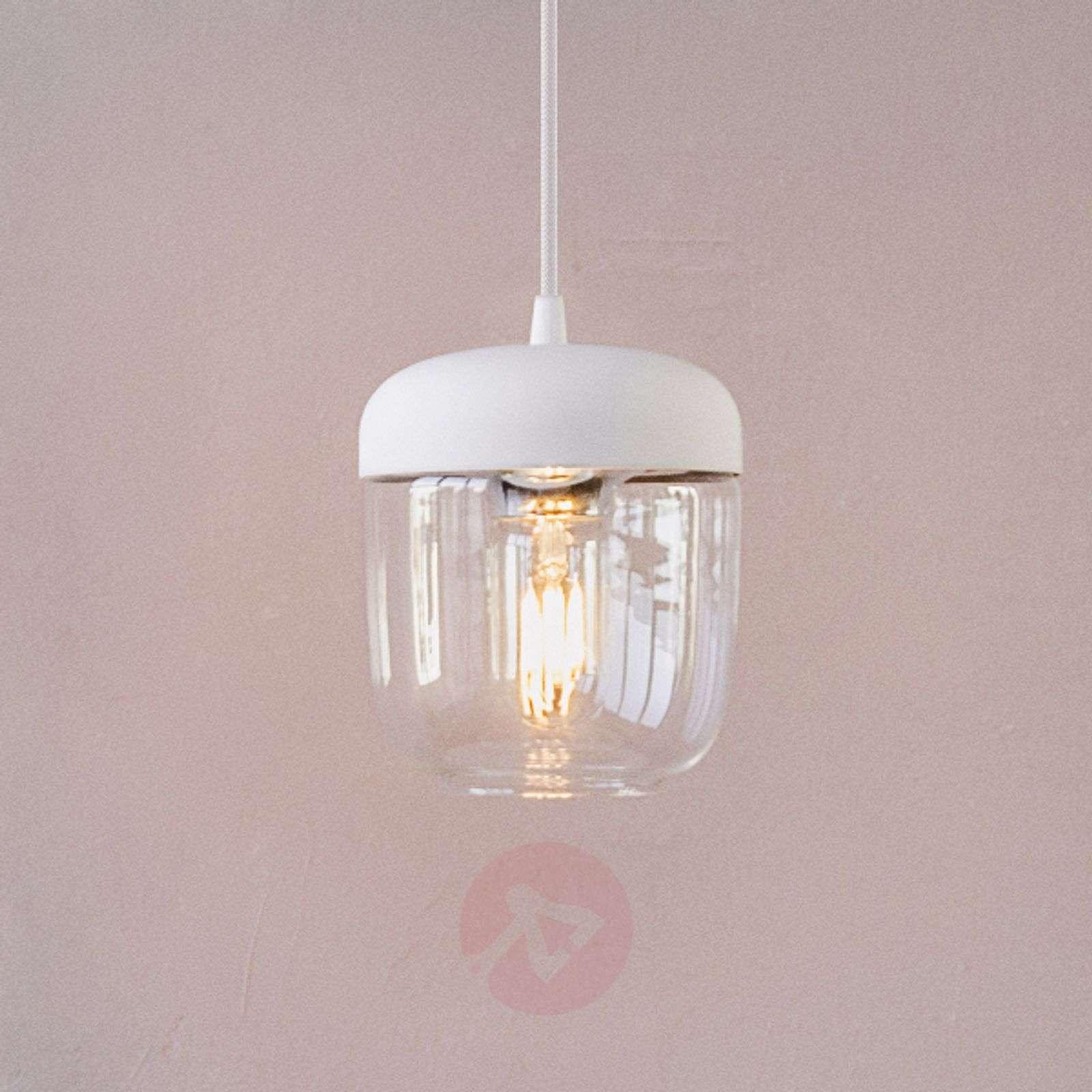 UMAGE Acorn hanging light white/brass-9521074-01