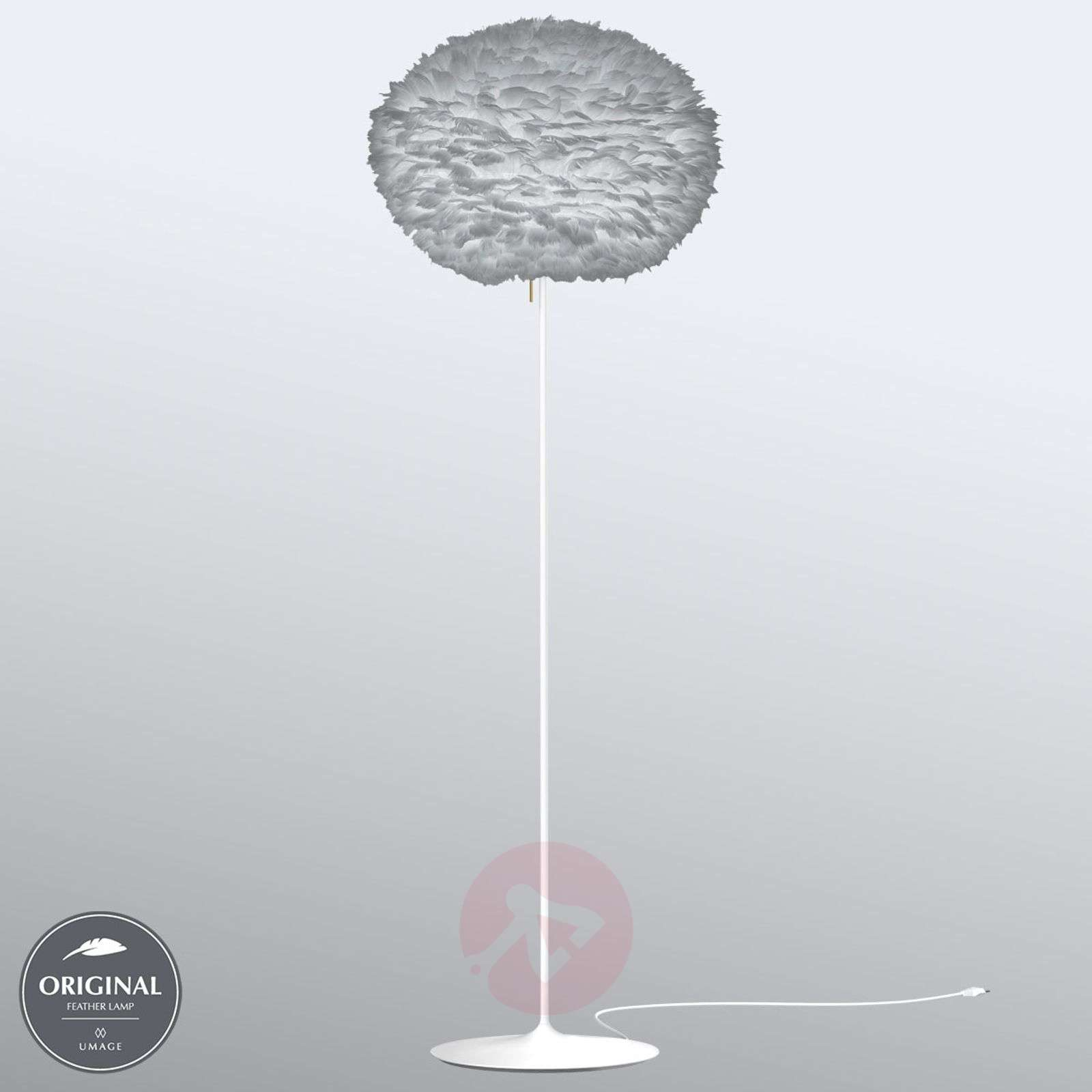 UMAGE Eos large floor lamp, light grey-9521119-01