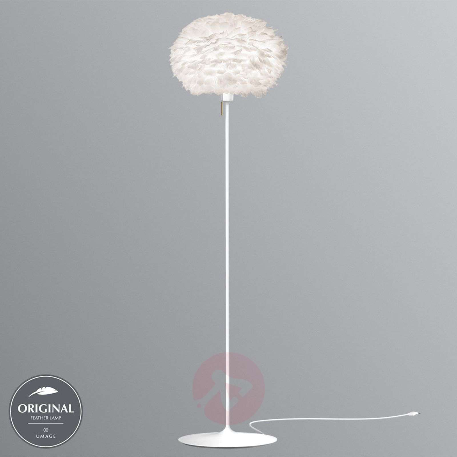 UMAGE Eos medium floor lamp in white-9521115-01