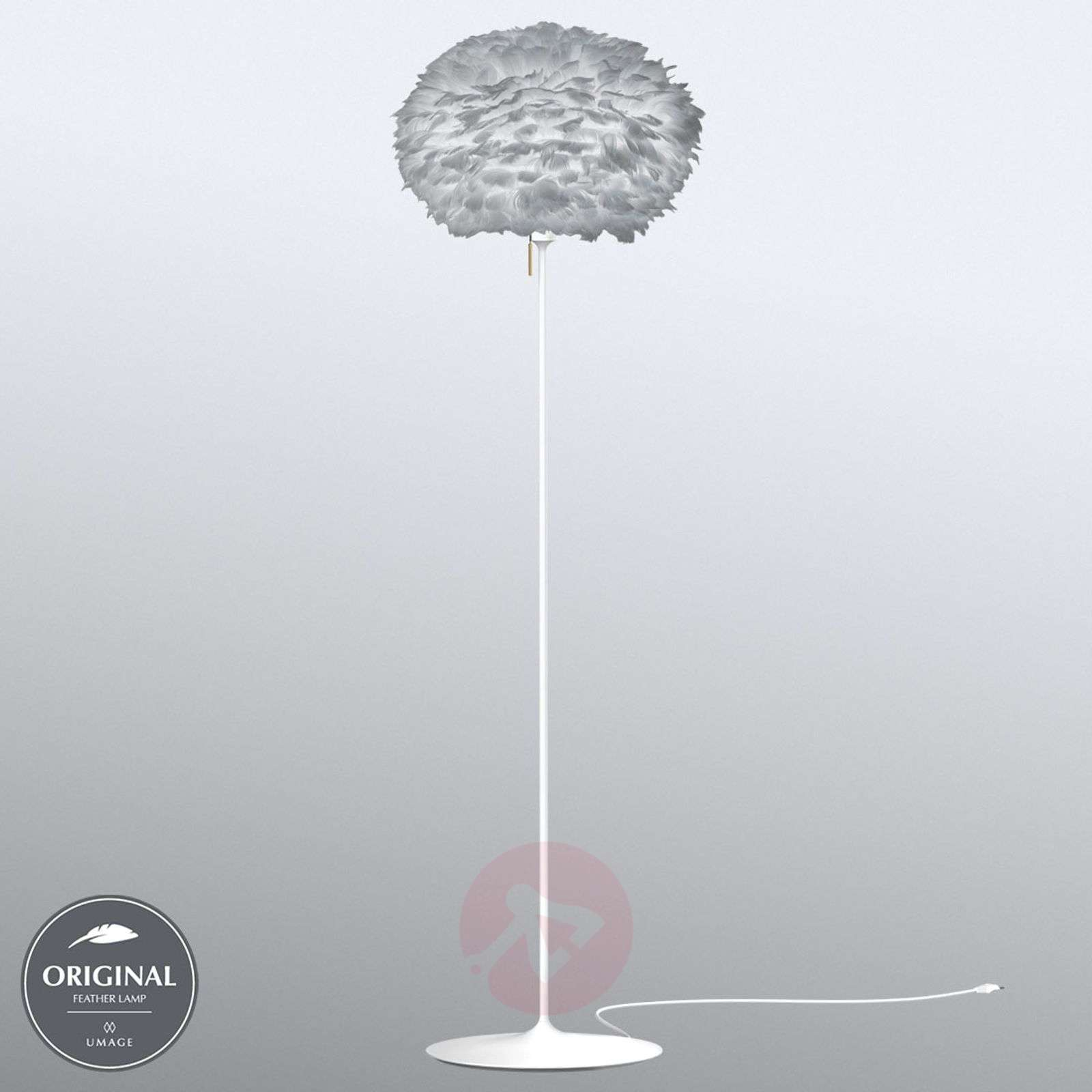 UMAGE Eos medium floor lamp, light grey-9521116-01