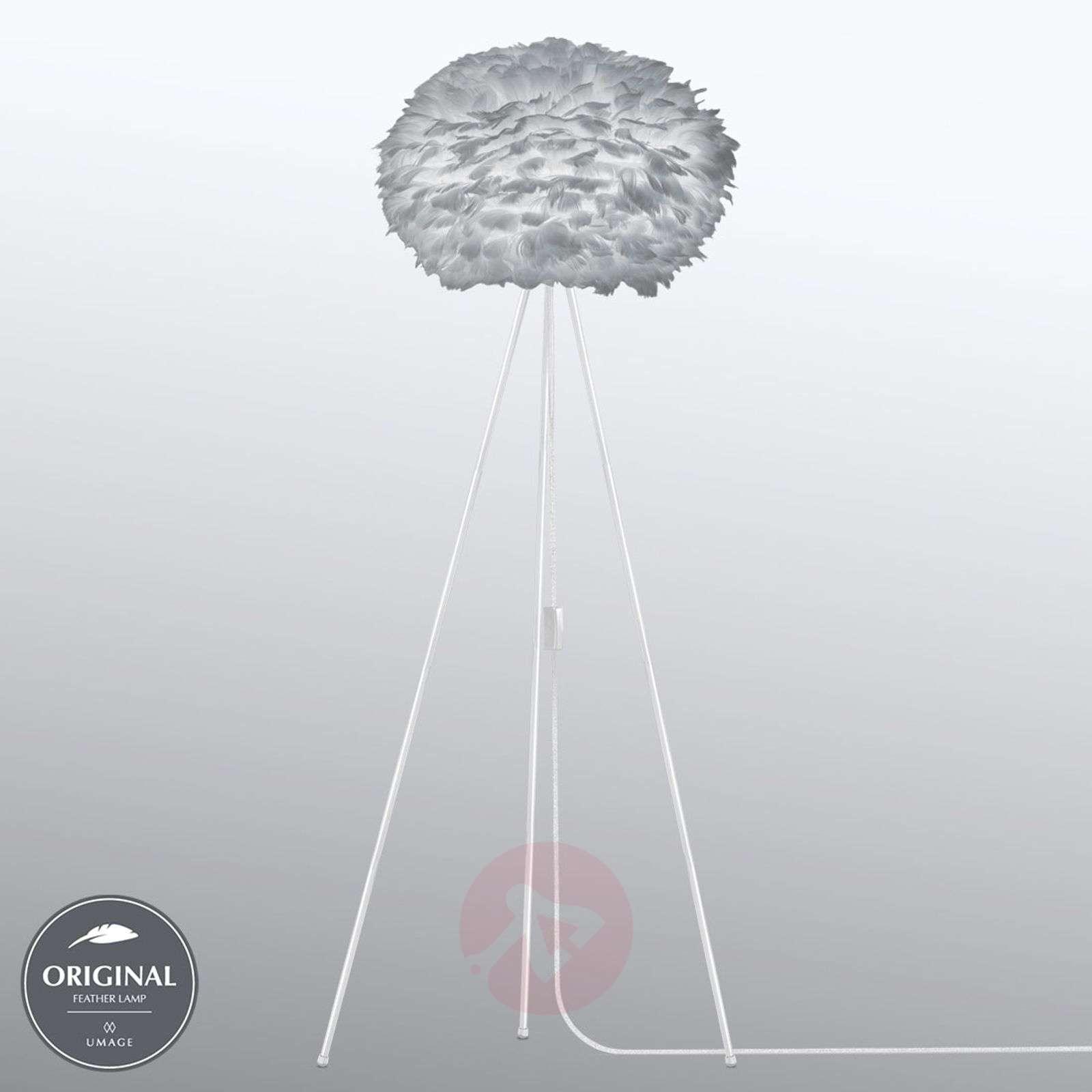 UMAGE Eos medium floor lamp, light grey-9521125-01