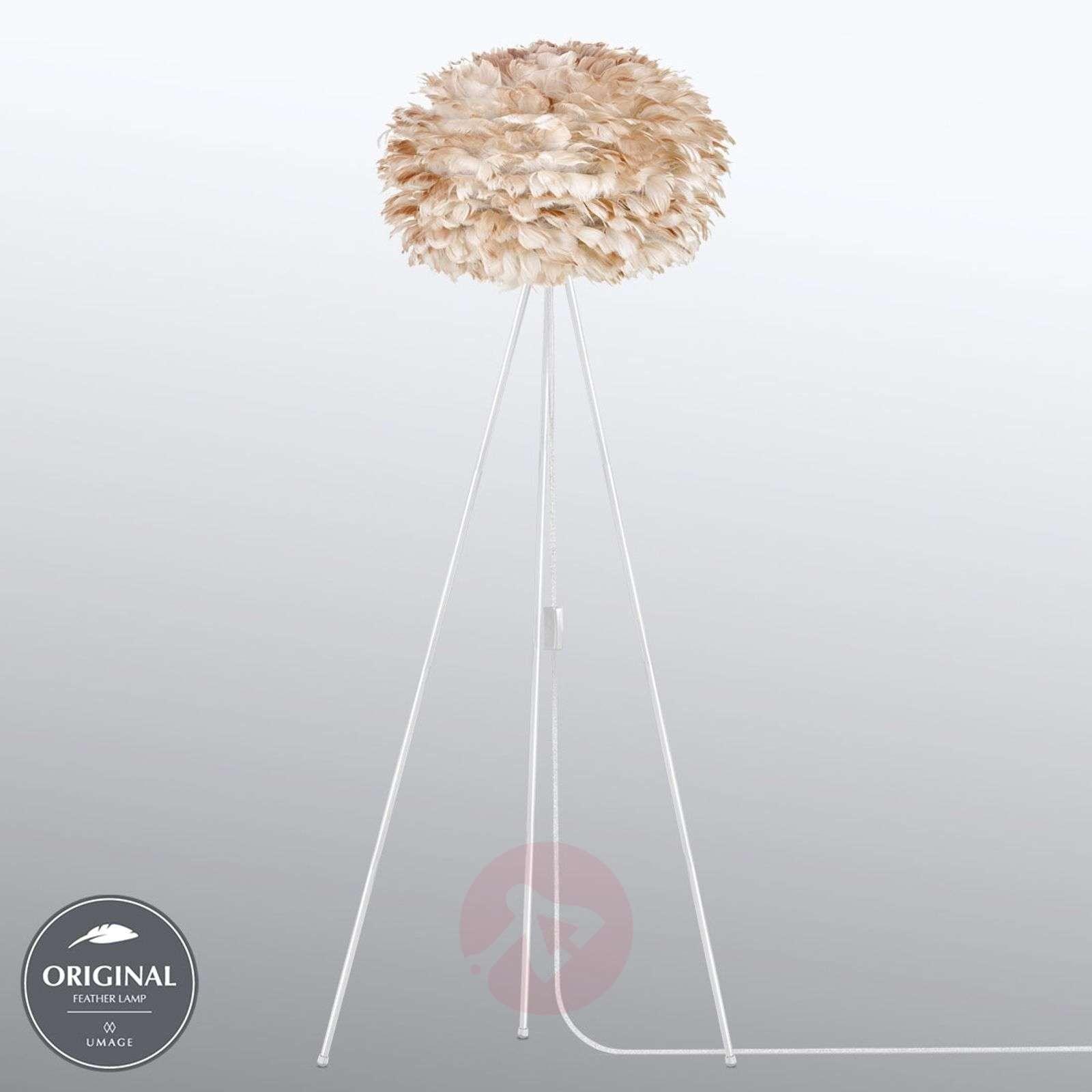 UMAGE Eos medium floor lamp tripod light brown-9521126-01