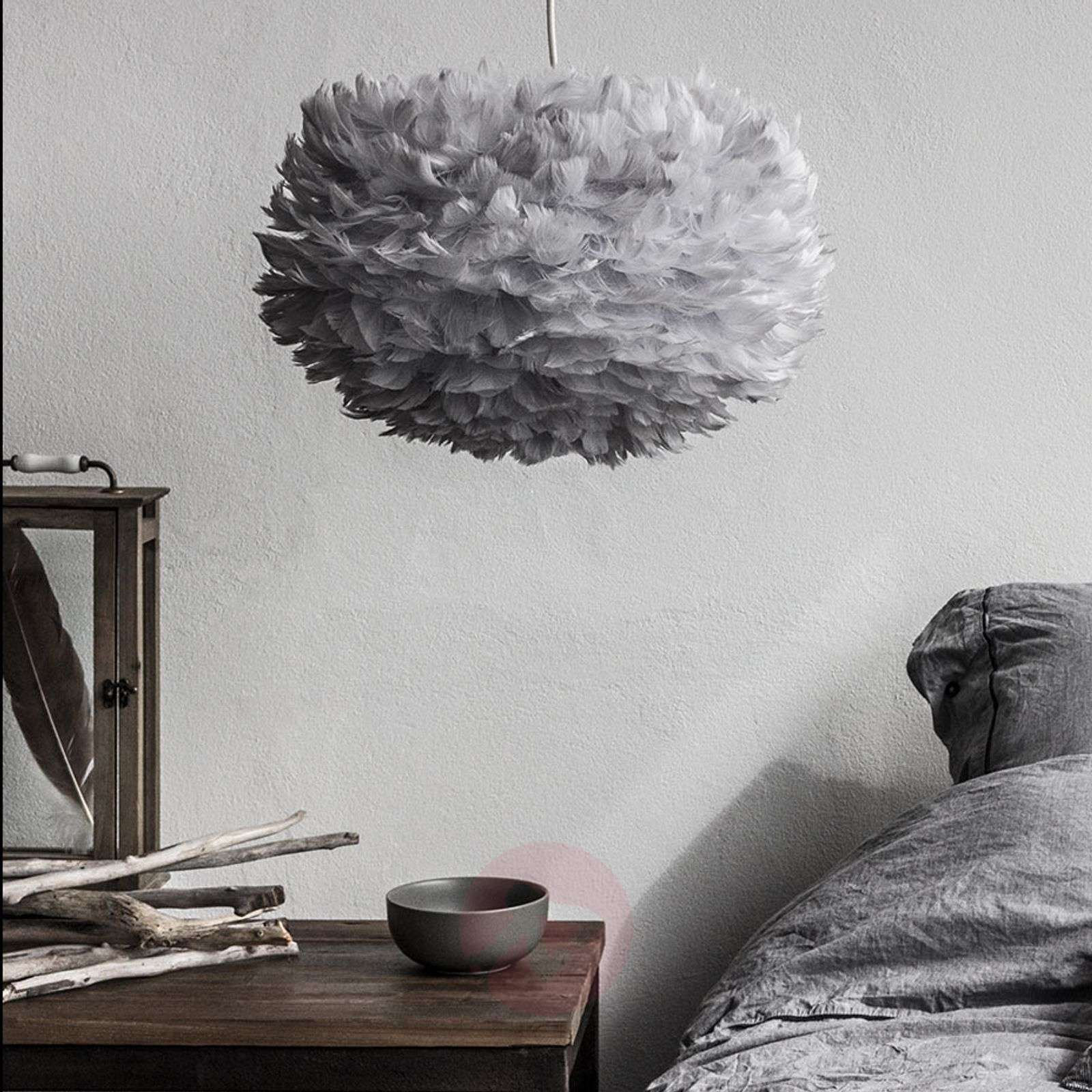 UMAGE Eos medium hanging lamp, light grey-9521033-01