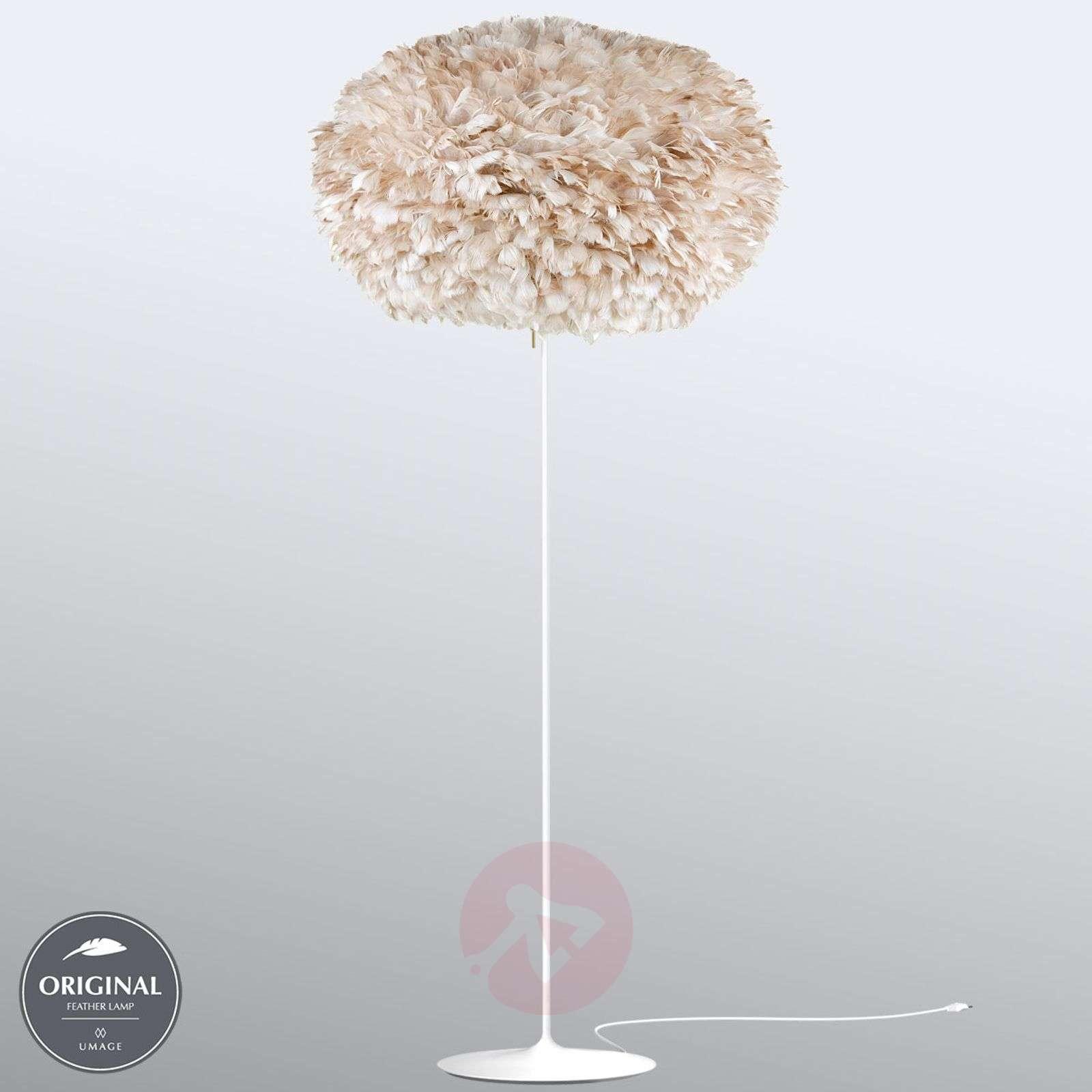 UMAGE Eos X-large floor lamp, light brown-9521123-01