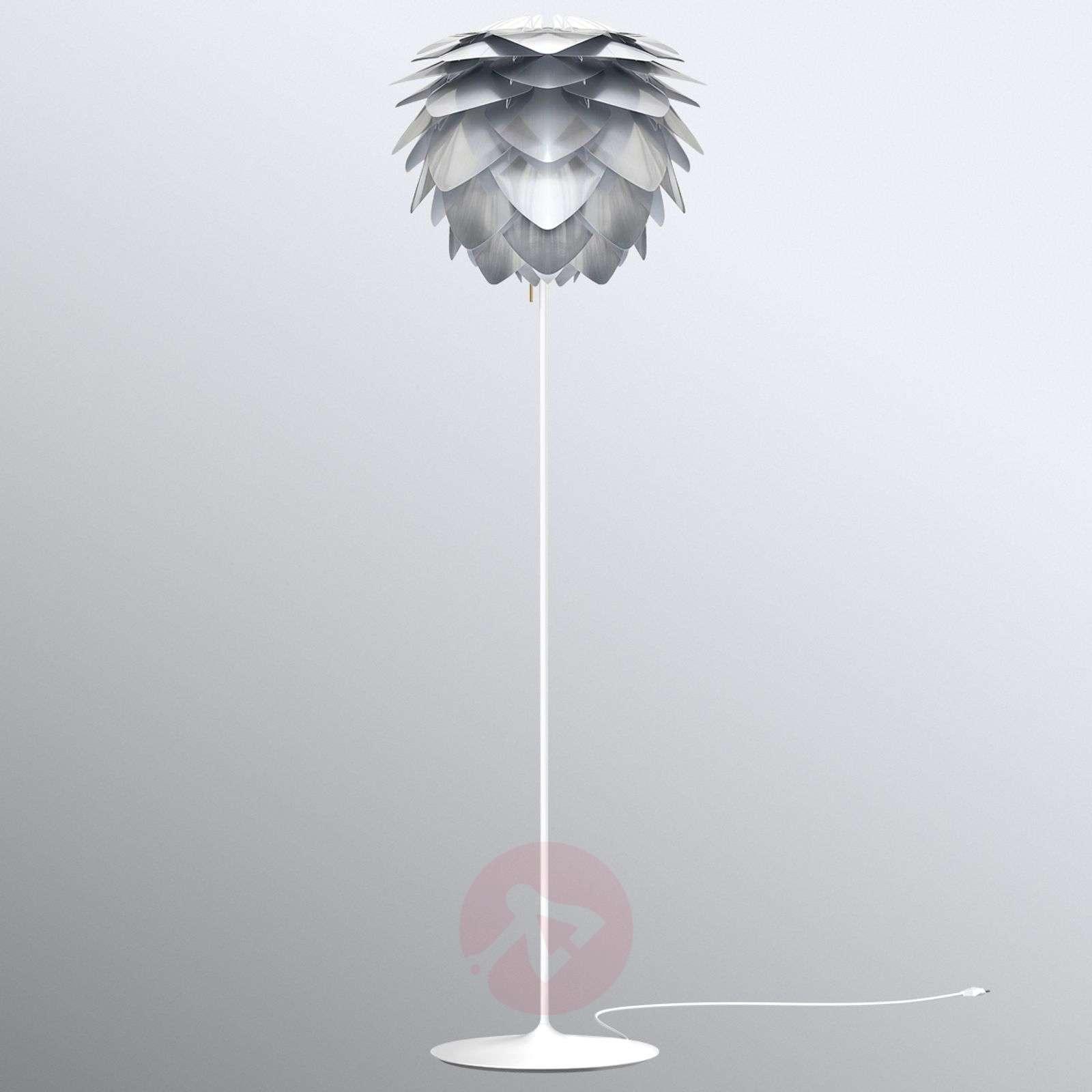 UMAGE Silvia medium floor lamp, steel-9521106-01
