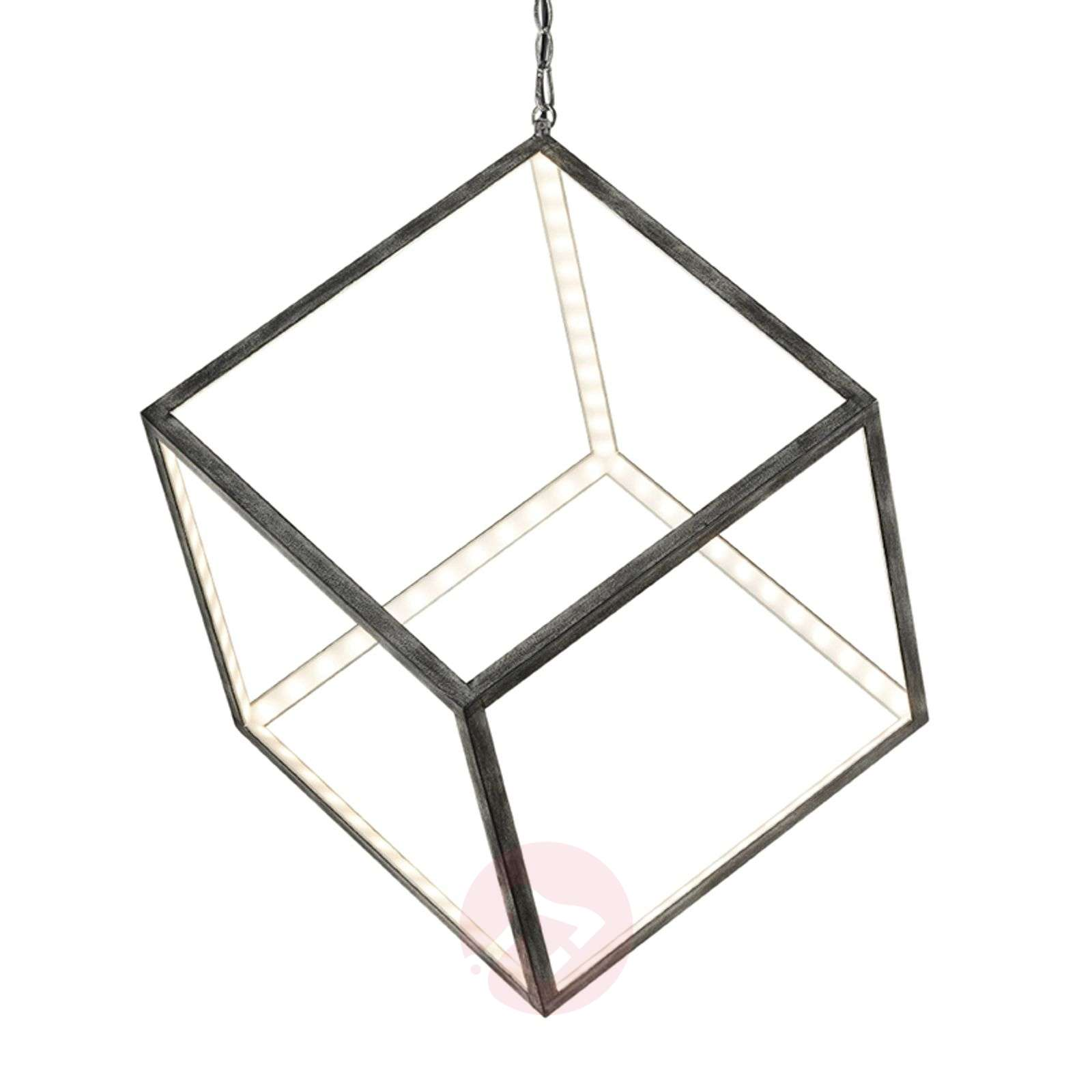 Unusual LED hanging lamp Dice 40 cm-9005290-01