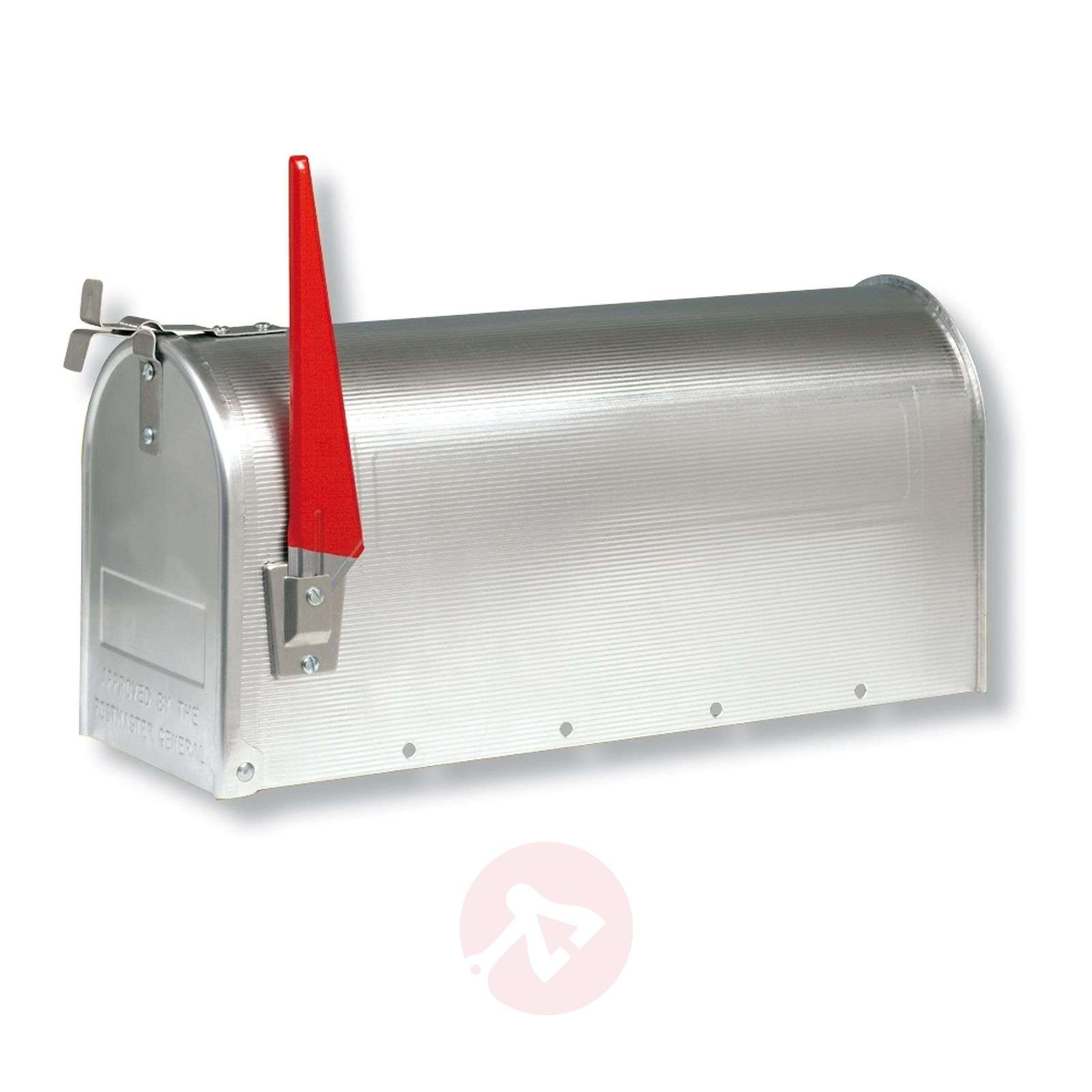 US mailbox with pivotable flag-1532116X-01