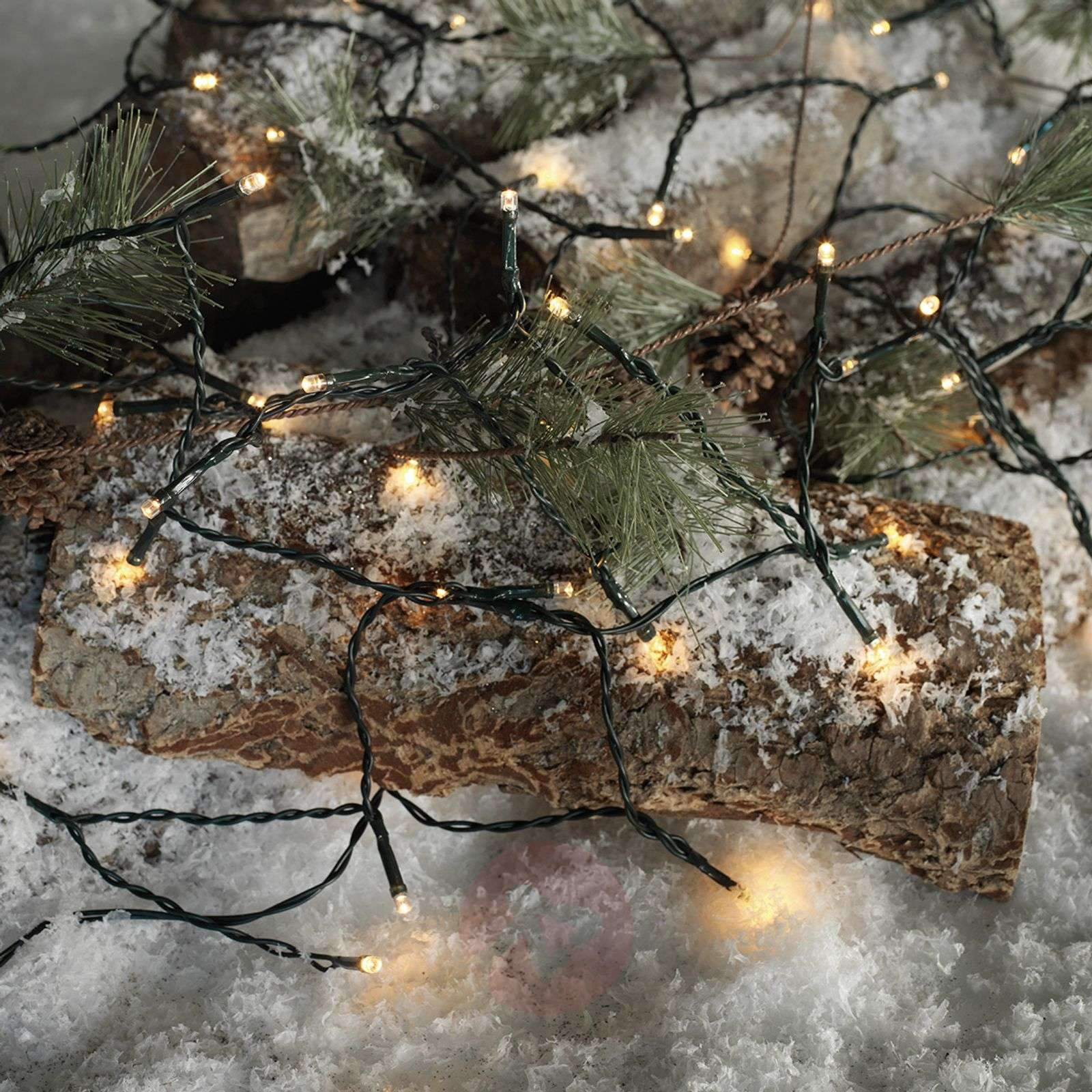 Usable outdoors LED string lights Time Line 40-8577072-01