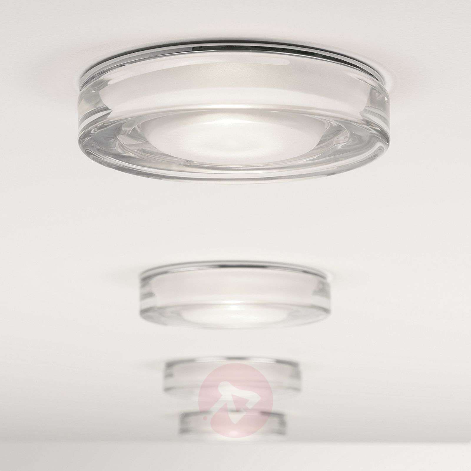 Vancouver Round Built-In Ceiling Light Decorative