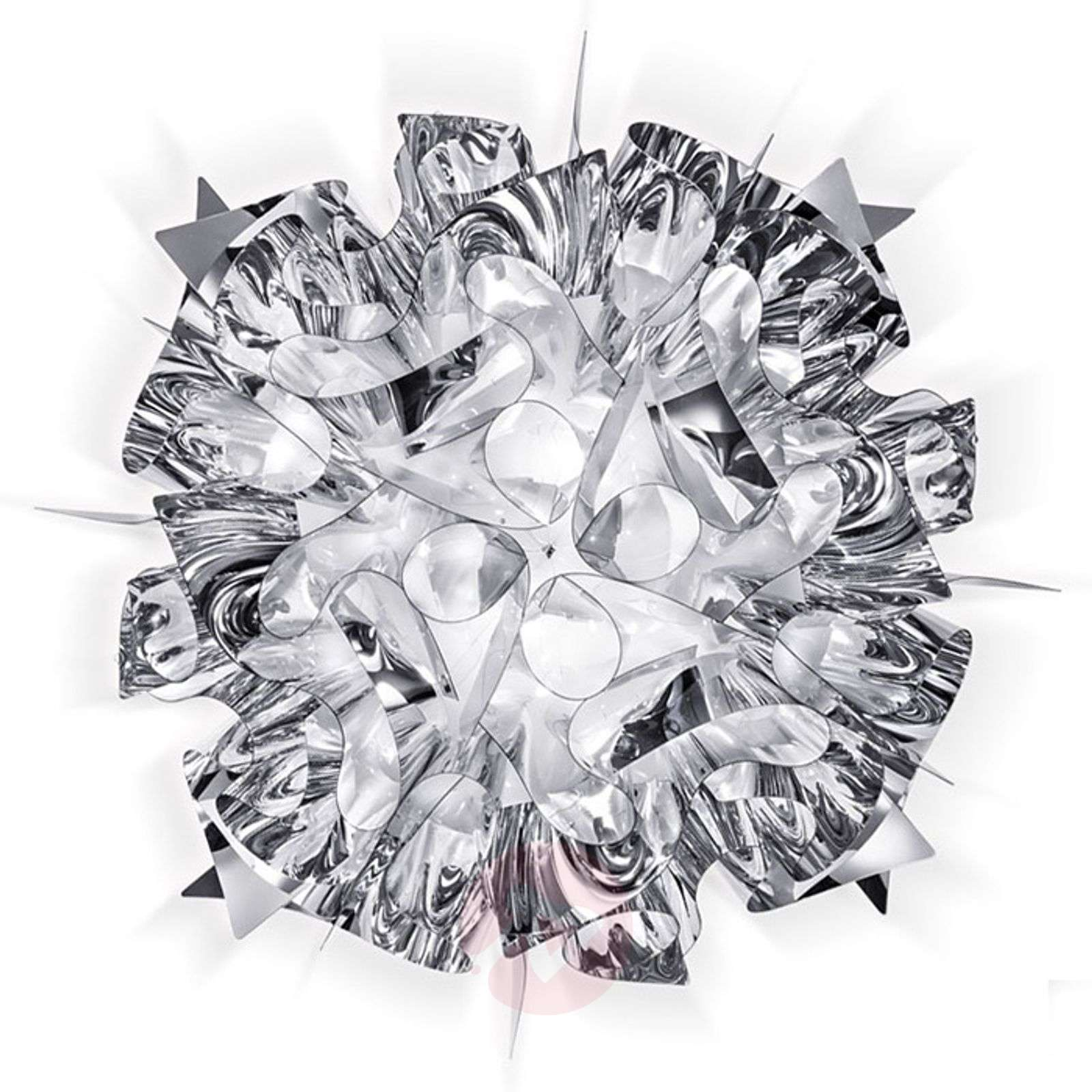 Veli designer ceiling light in silver, 53 cm-8503213-01