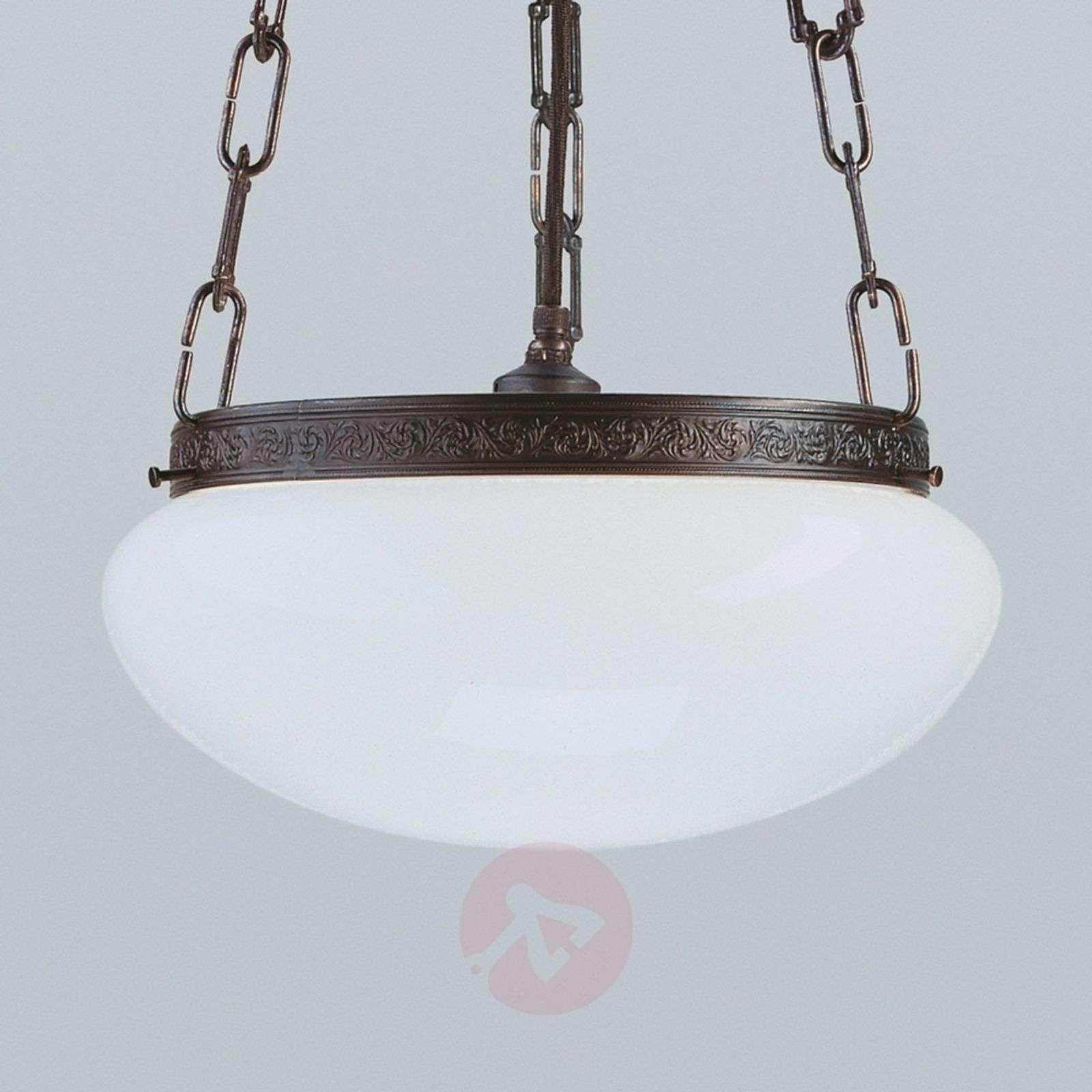 Verne antique-effect hanging light_1542087_1