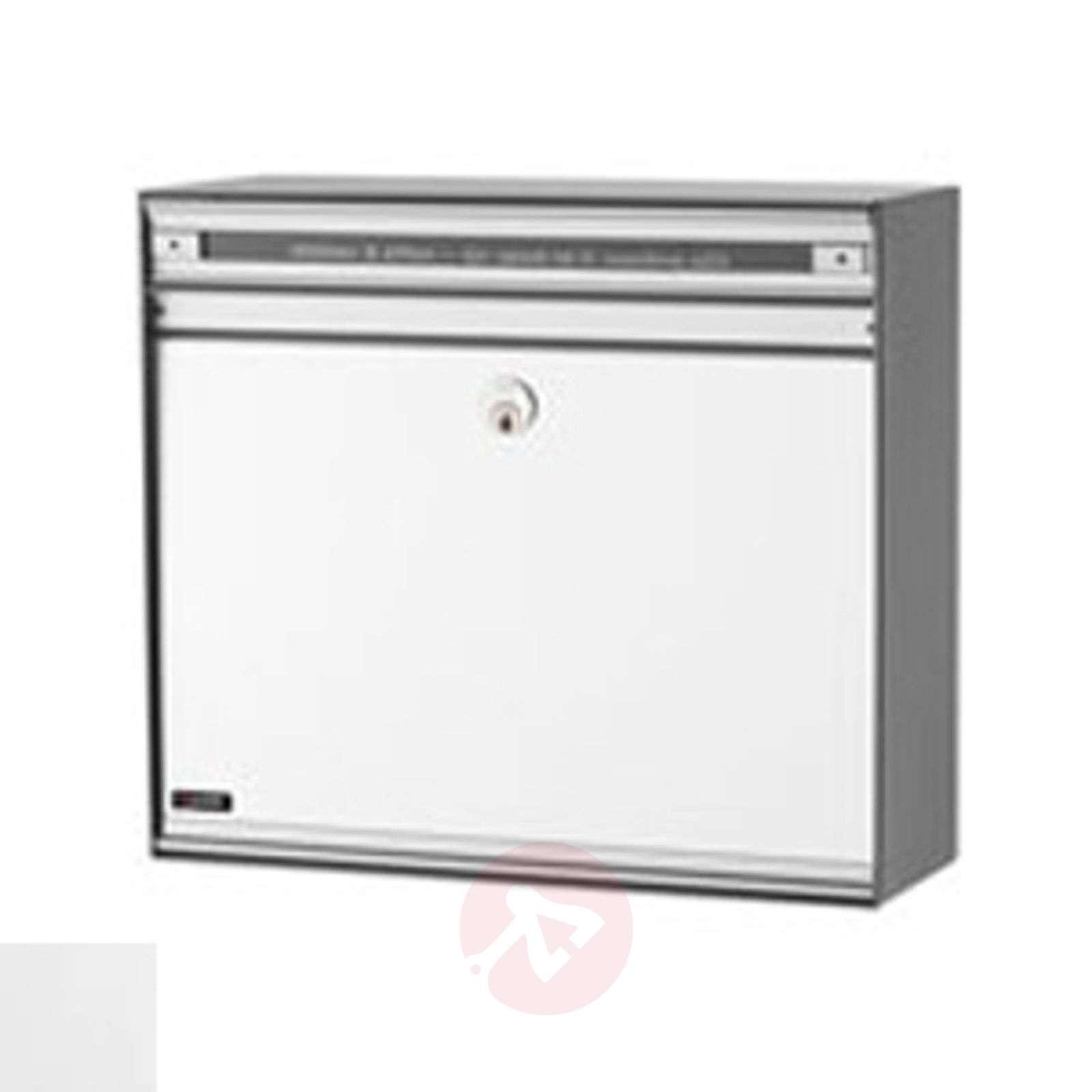 Versatile letterbox SC135 with aluminium front-1045046X-01