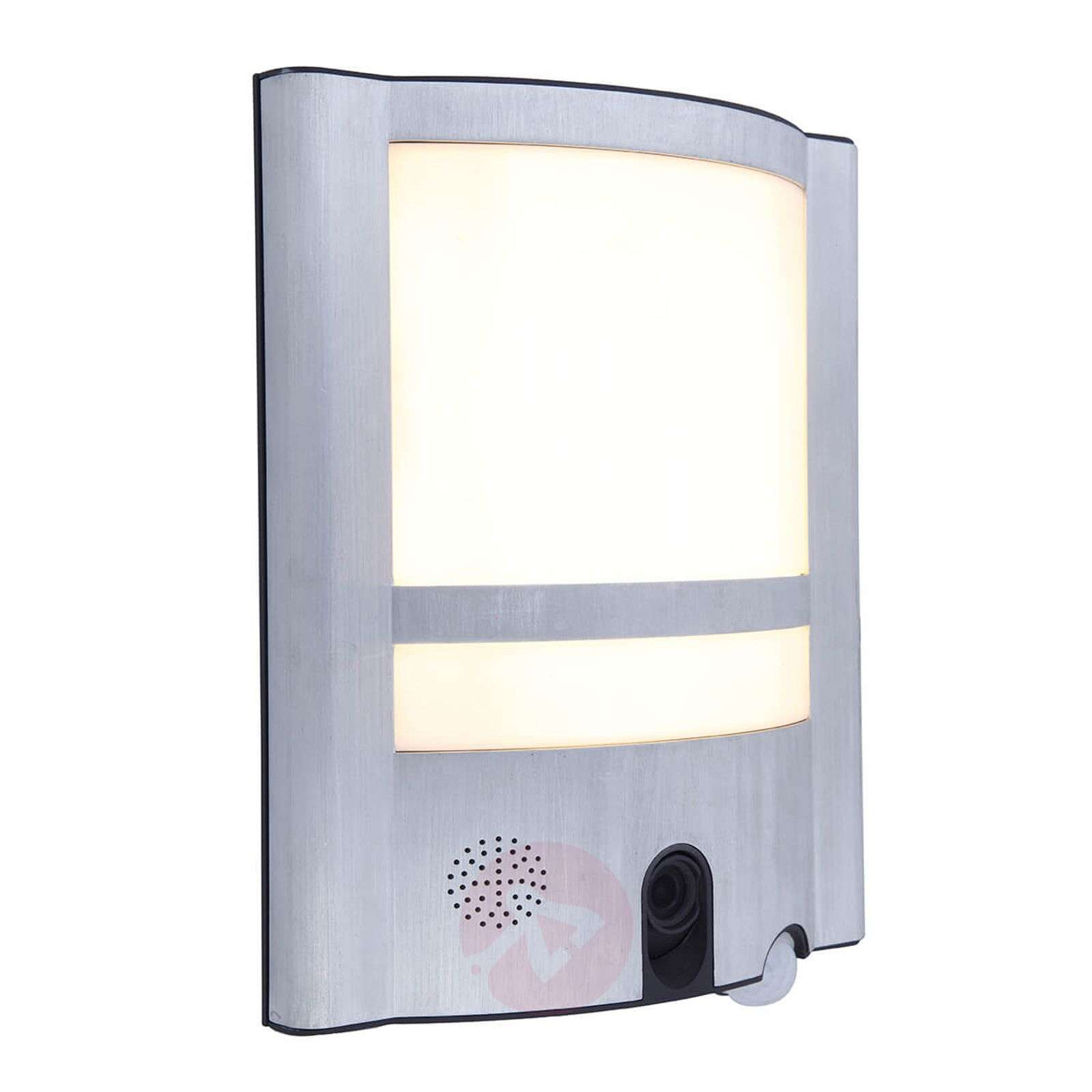 Vesta Cam outdoor wall light with sensor and camera-3006505-02