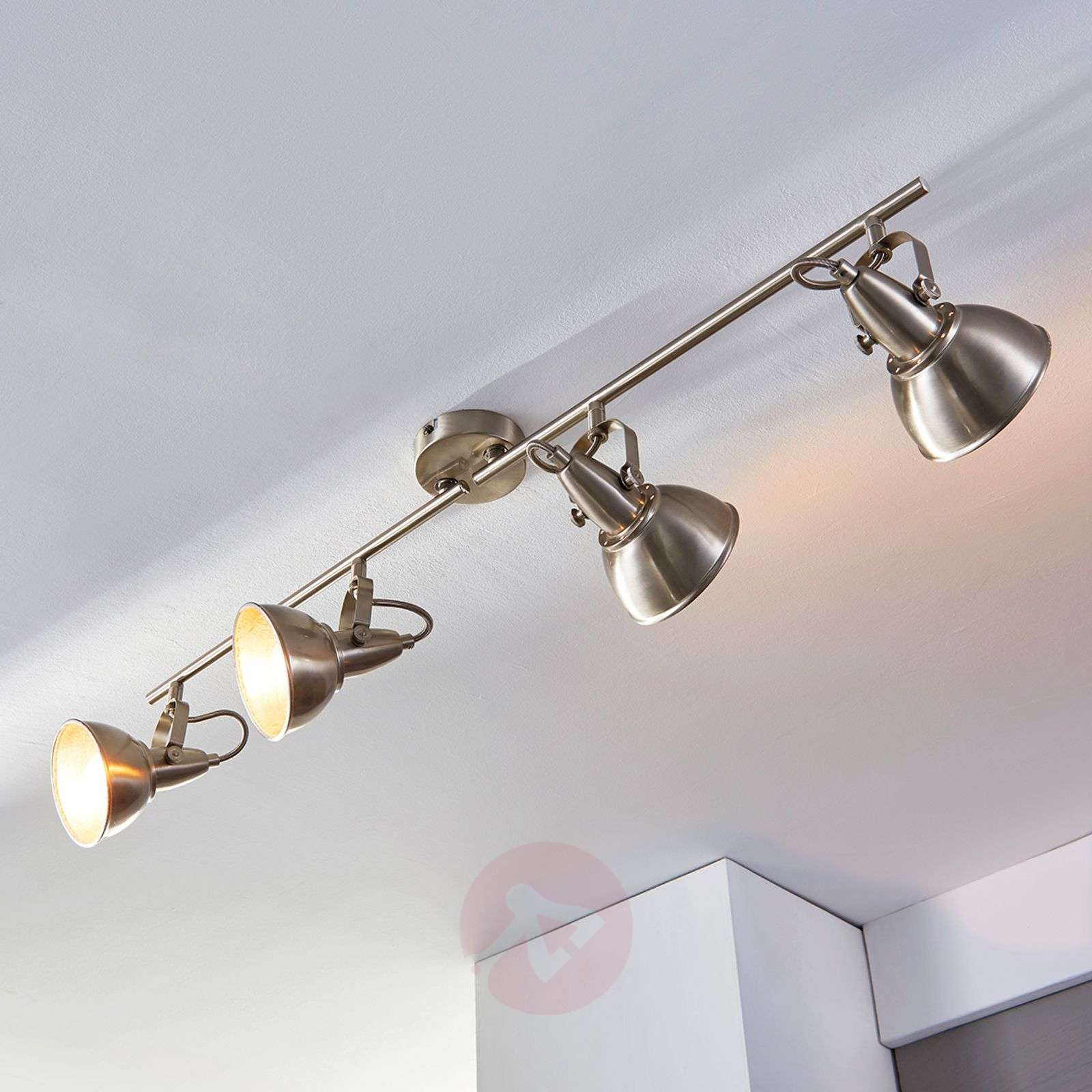 Vintage kitchen lamp Julin, 4 bulbs-9620733-03