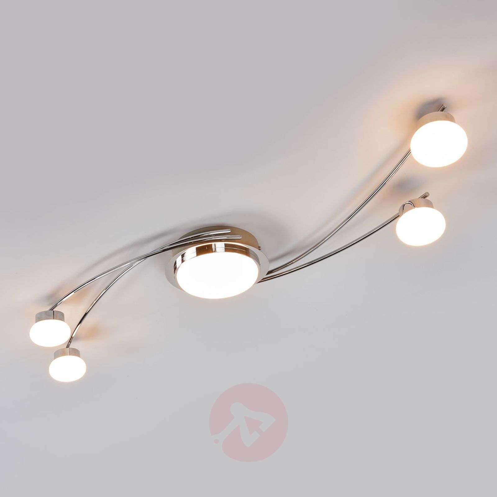 Vitus LED ceiling lamp in chrome-9994101-02