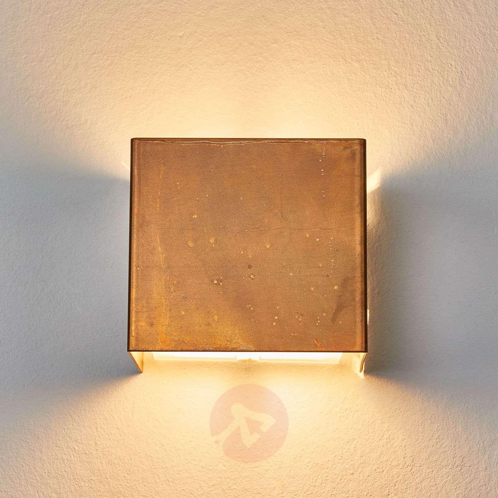 Wall lamp LOLA with oxidized brass-4011107-01