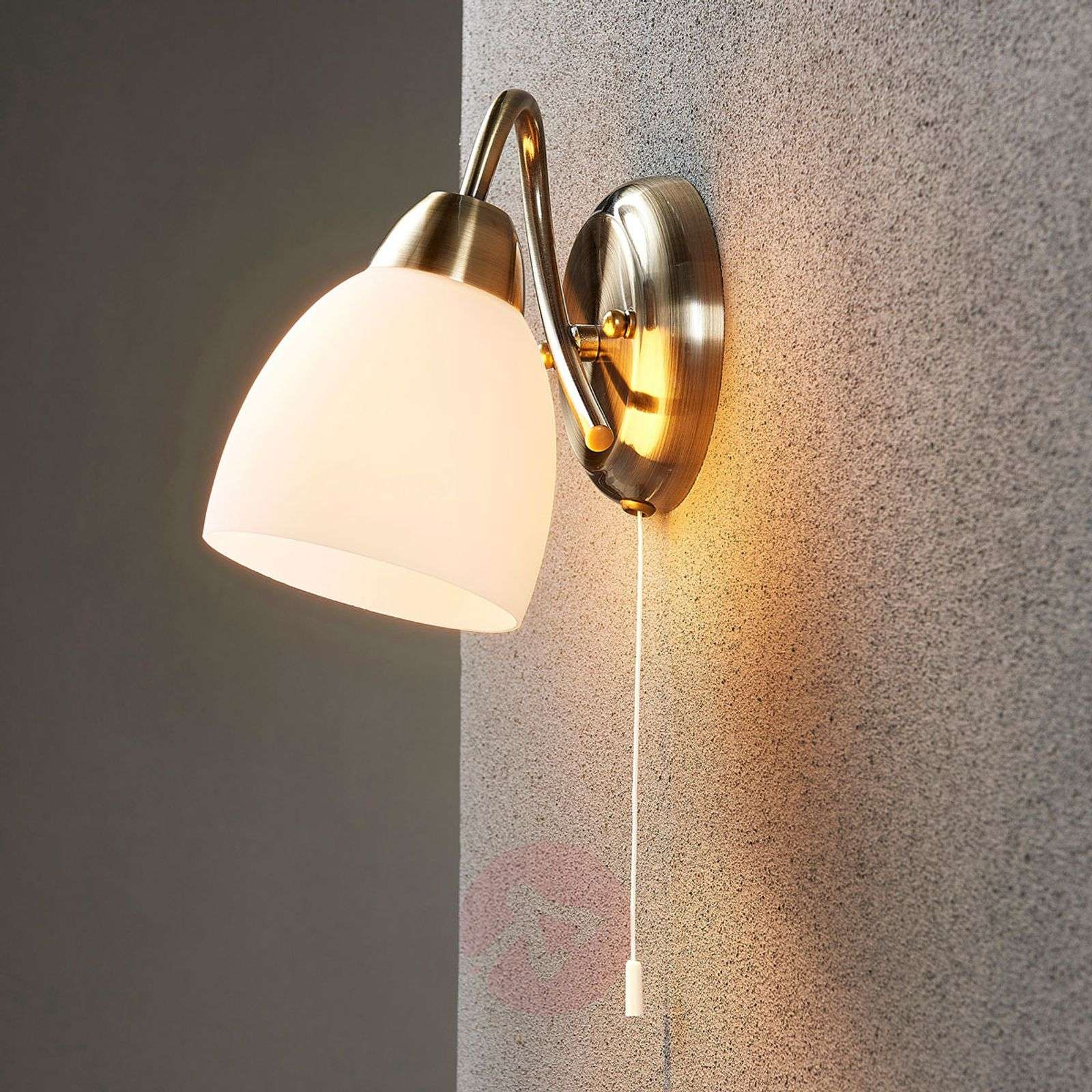 Wall light Mael with a pull switch-9620761-02