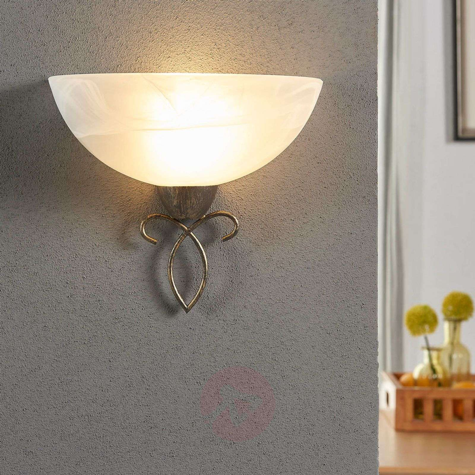 Wall light Mohija with a romantic look-9620869-02