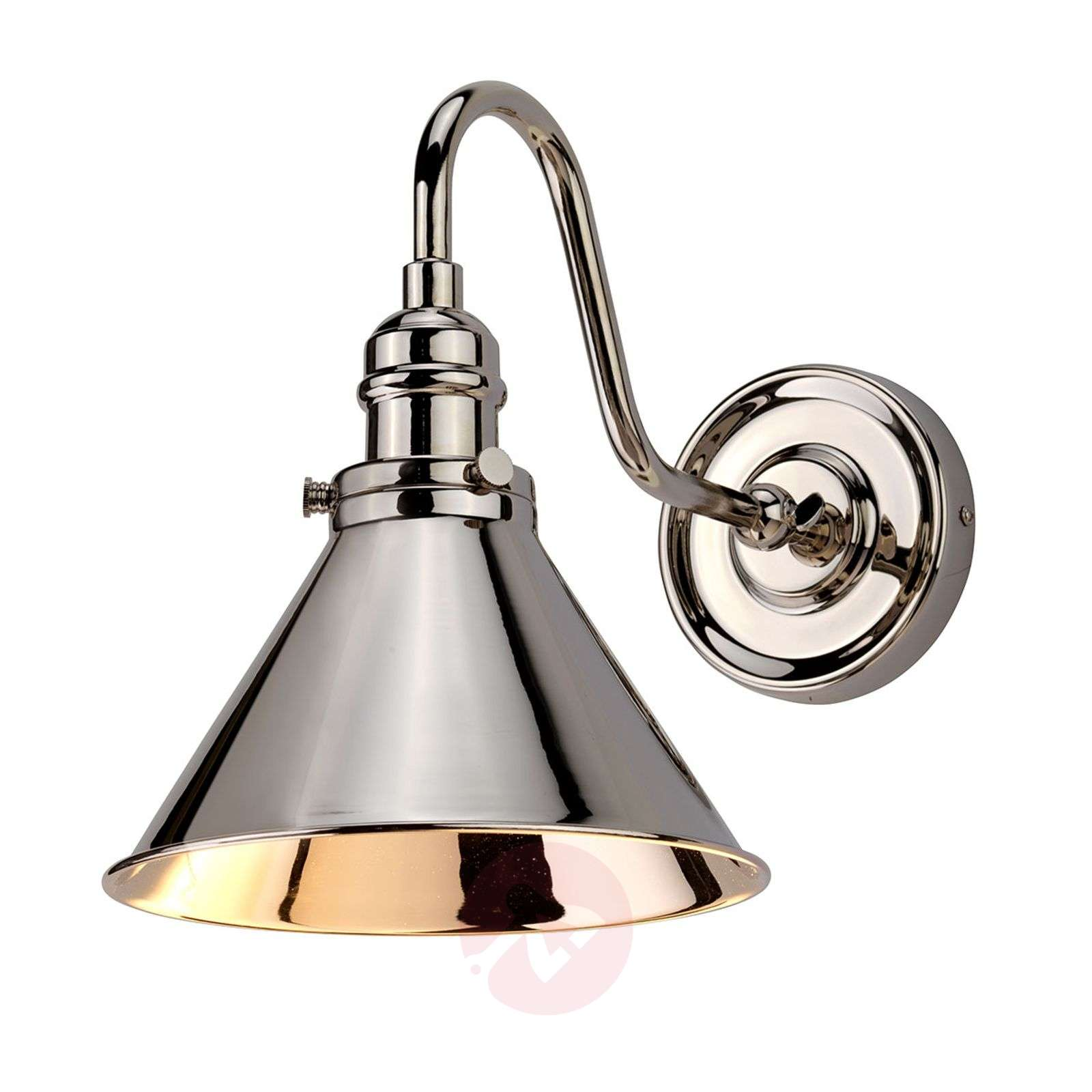Wall light Provence in a polished nickel finish-3048897-01