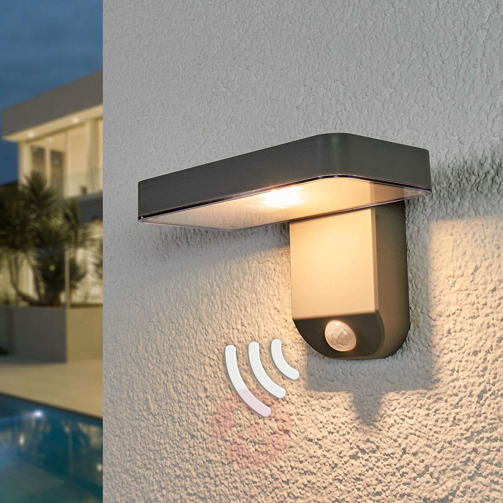 Wall Mounted Sensor Led Solar Lamp Maik