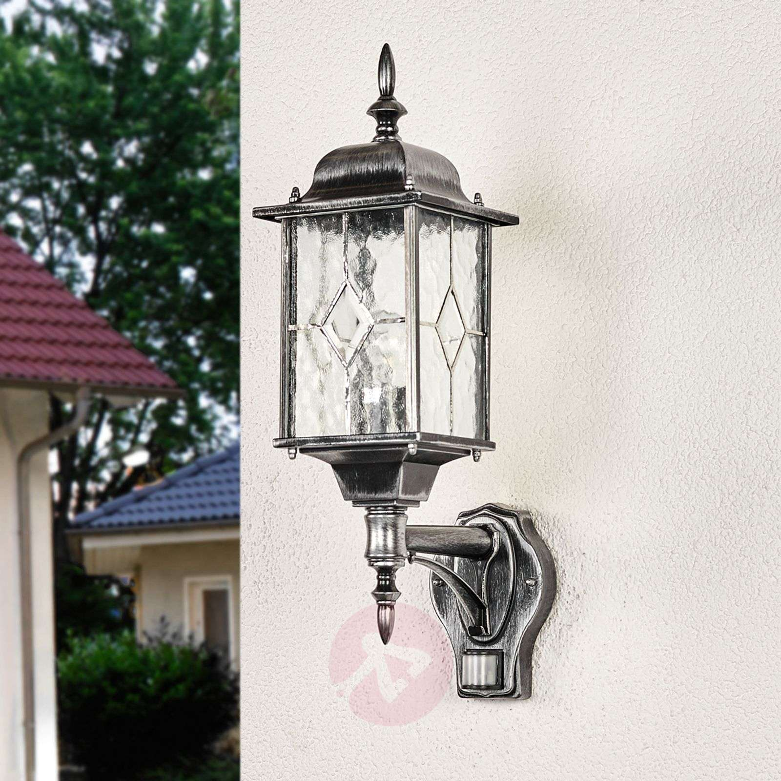 Wexford WX1 outdoor wall light with sensor-3048207-02