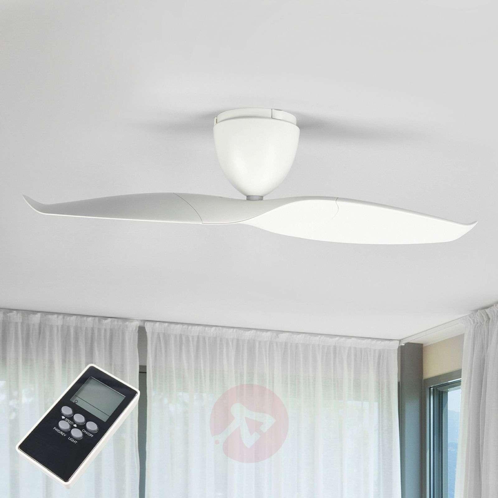 White ceiling fan Wave 109.2cm-1068006-014