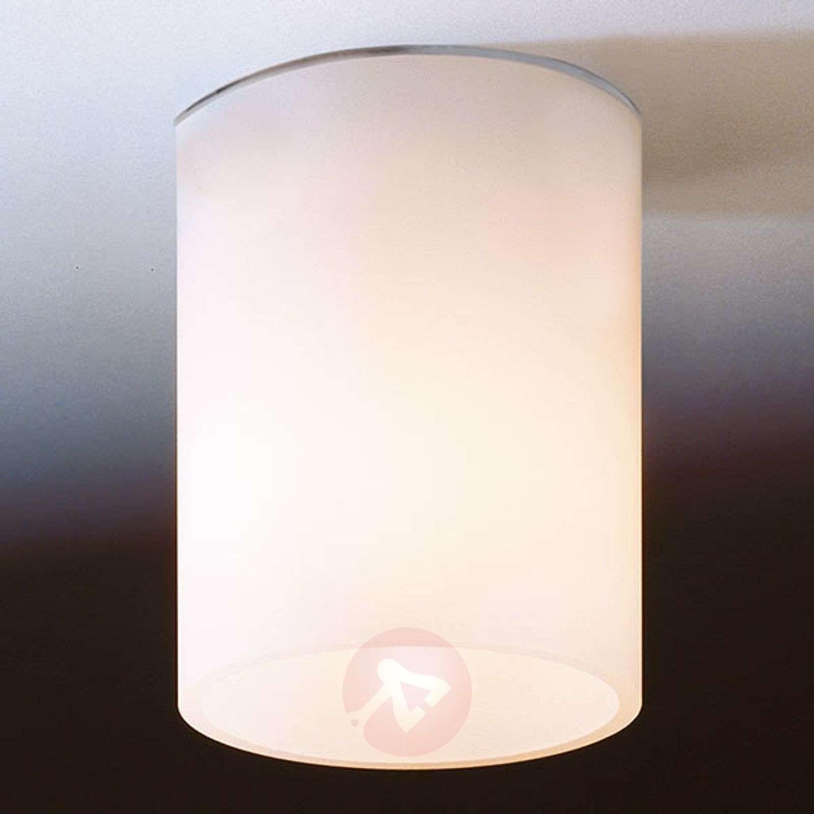 White ceiling light DELA SHORT made of glass-9020021-01