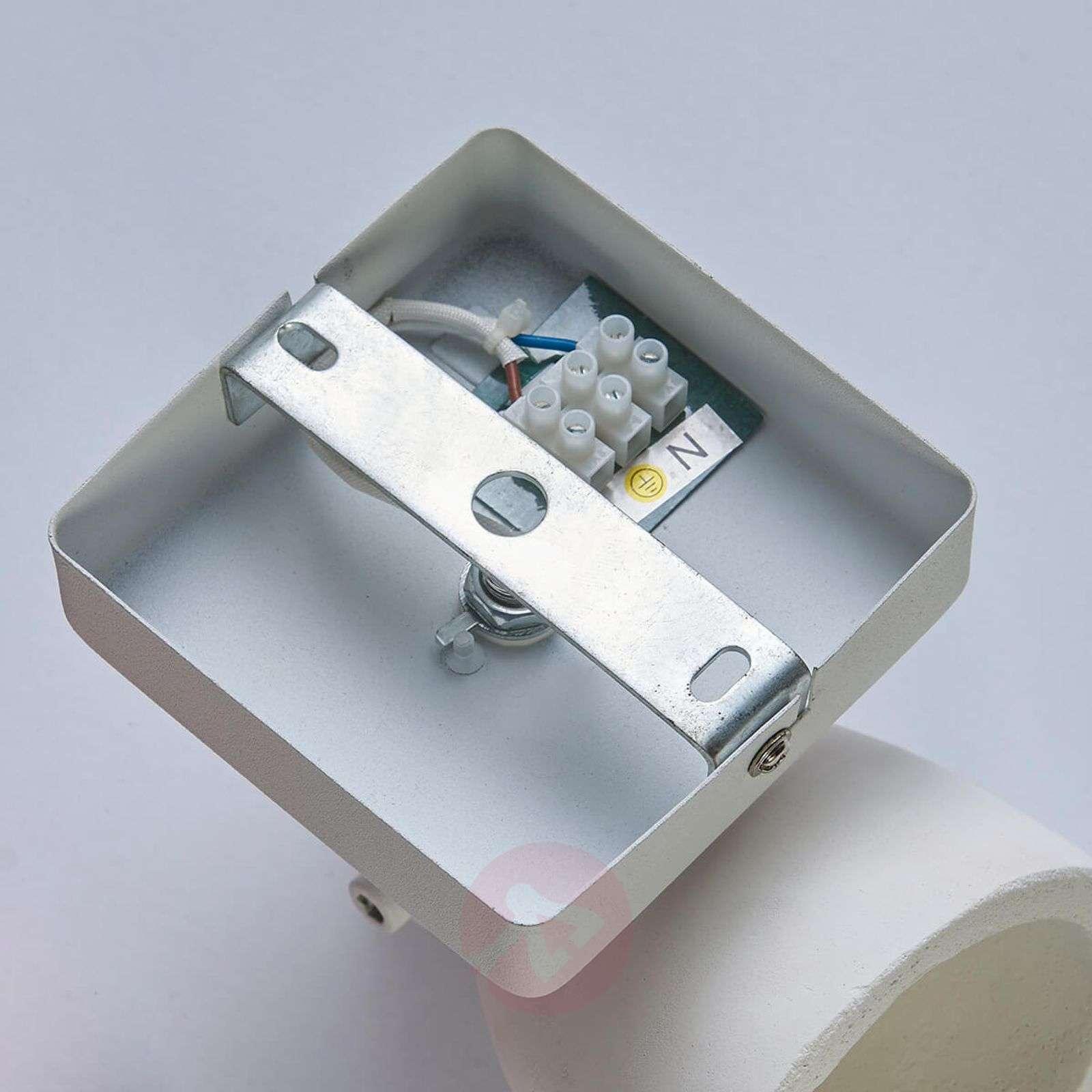 White concrete spotlight Kadiga, LED-9621088-02