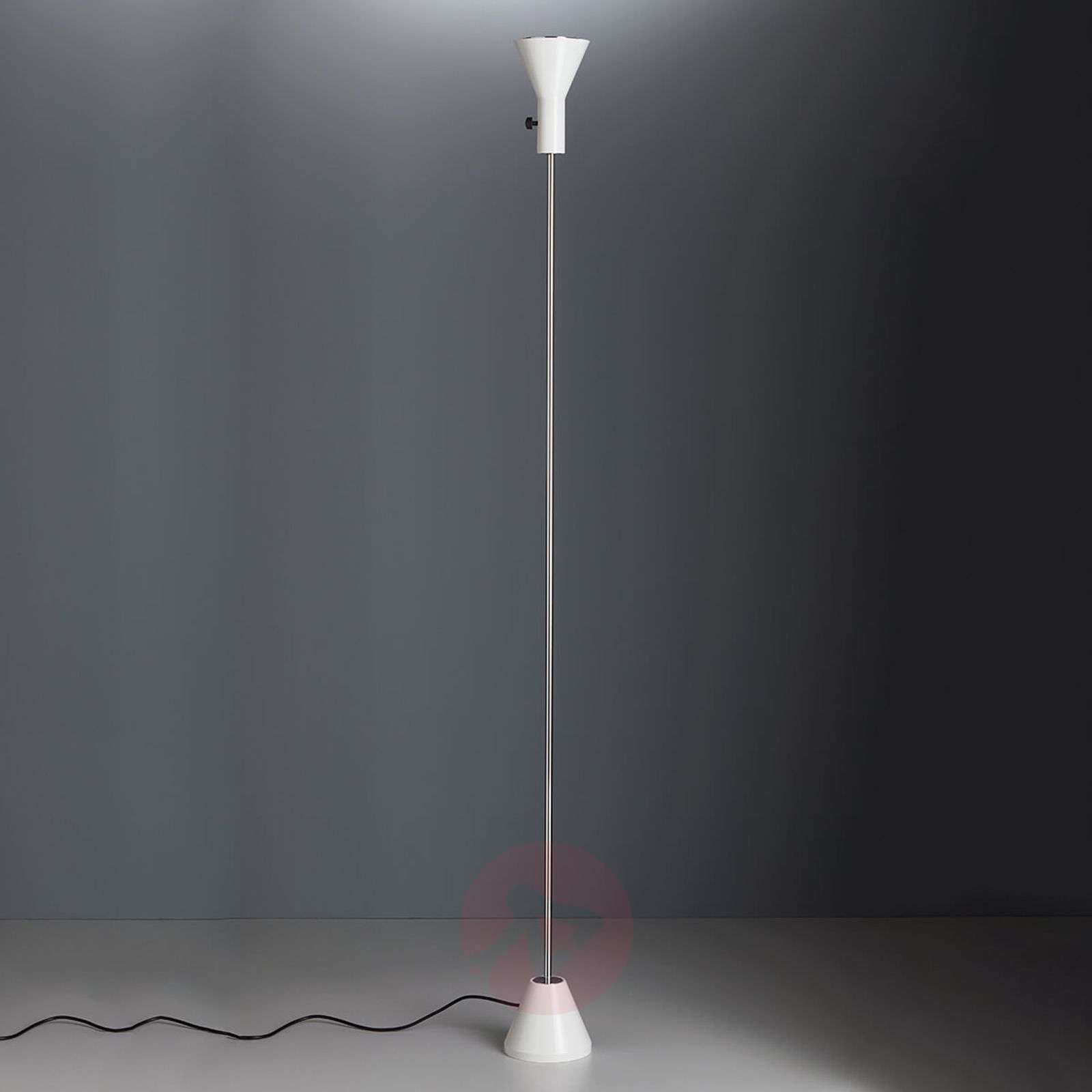 White designer-floor lamp Gru with LED-light-9030225-01