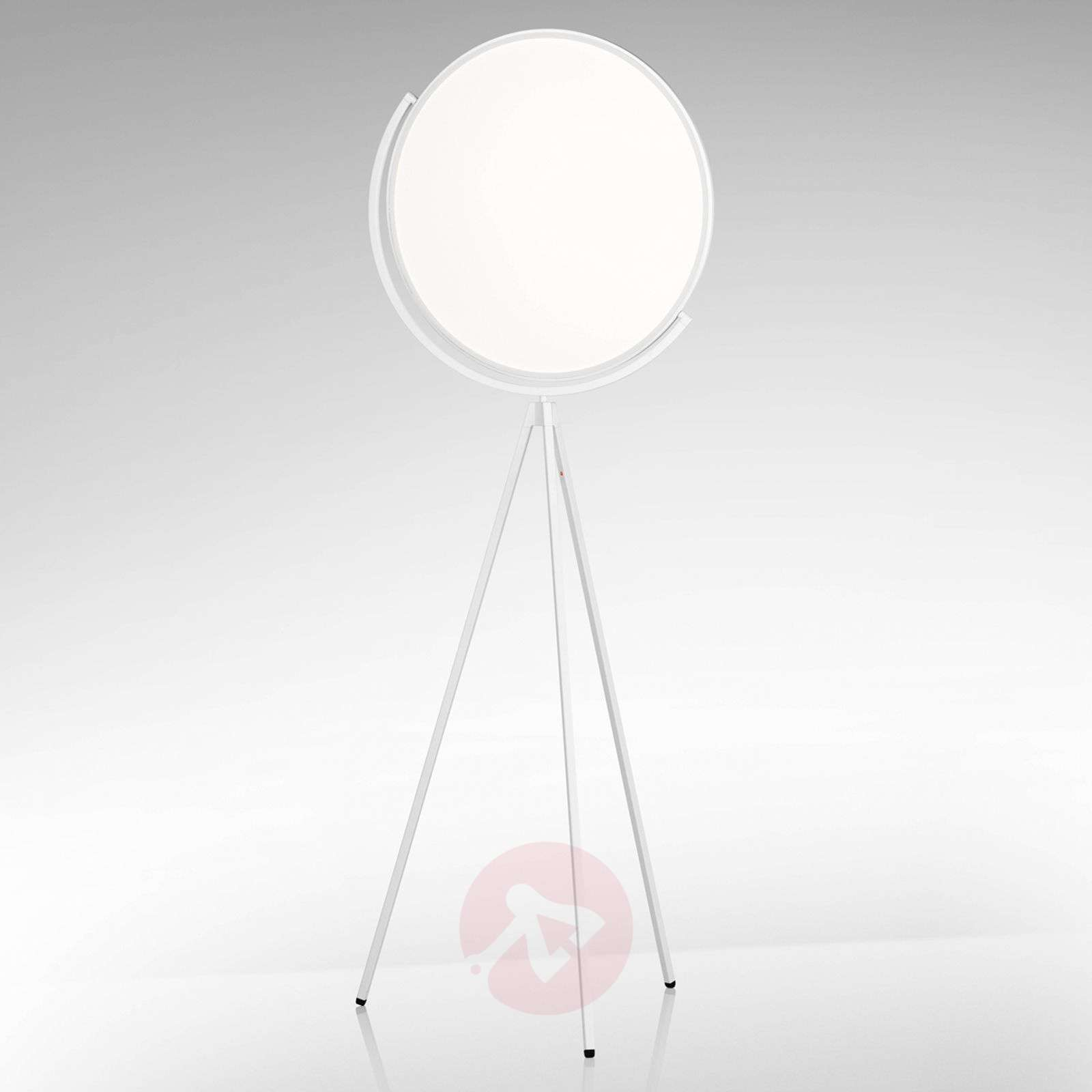 White designer floor lamp Superloon with LED-3510357-01