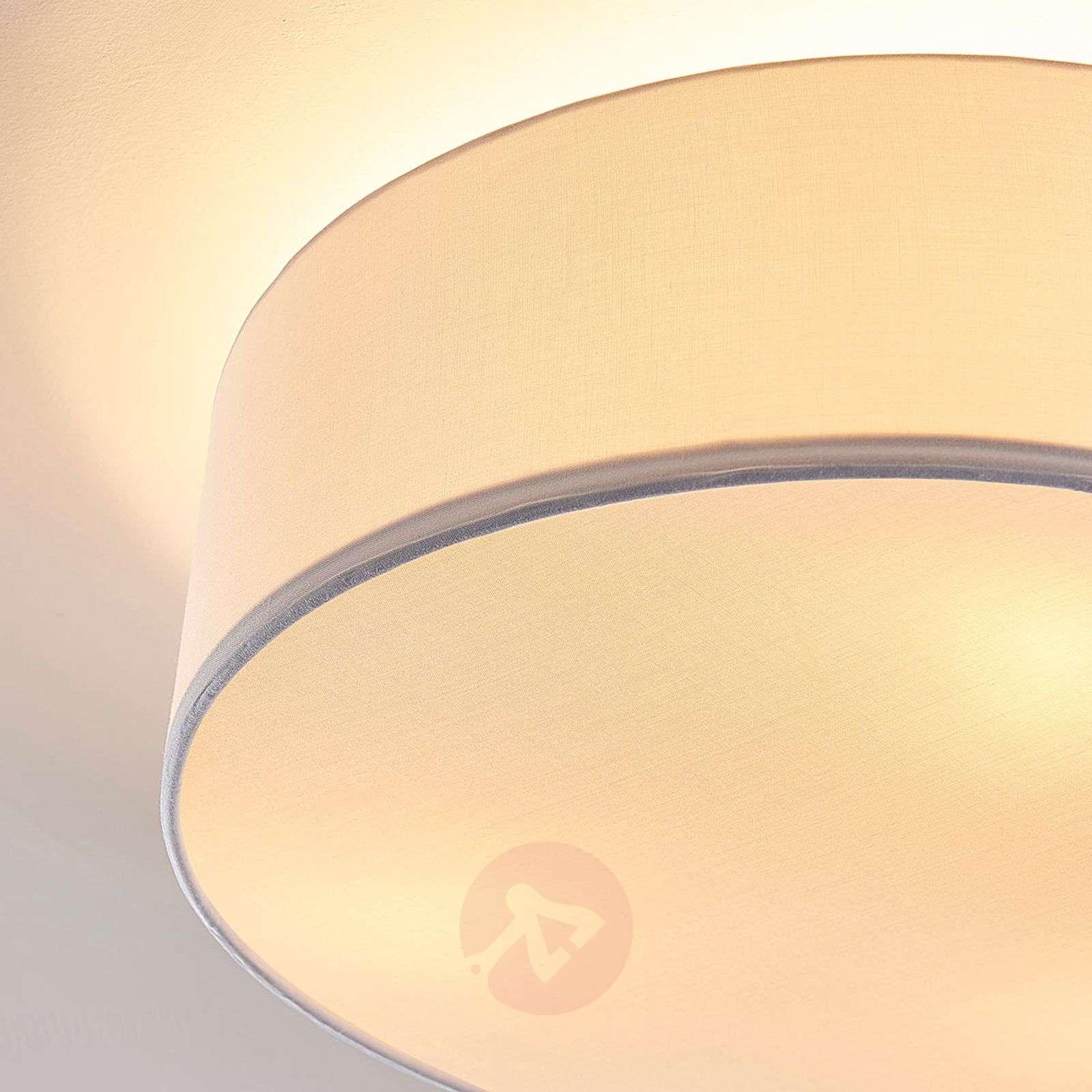 White fabric ceiling light Sebatin-9620333-02