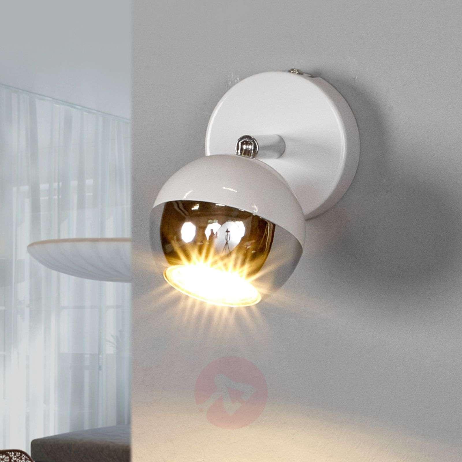 White GU10 spotlight Arvin with LED lamp-9970110-03